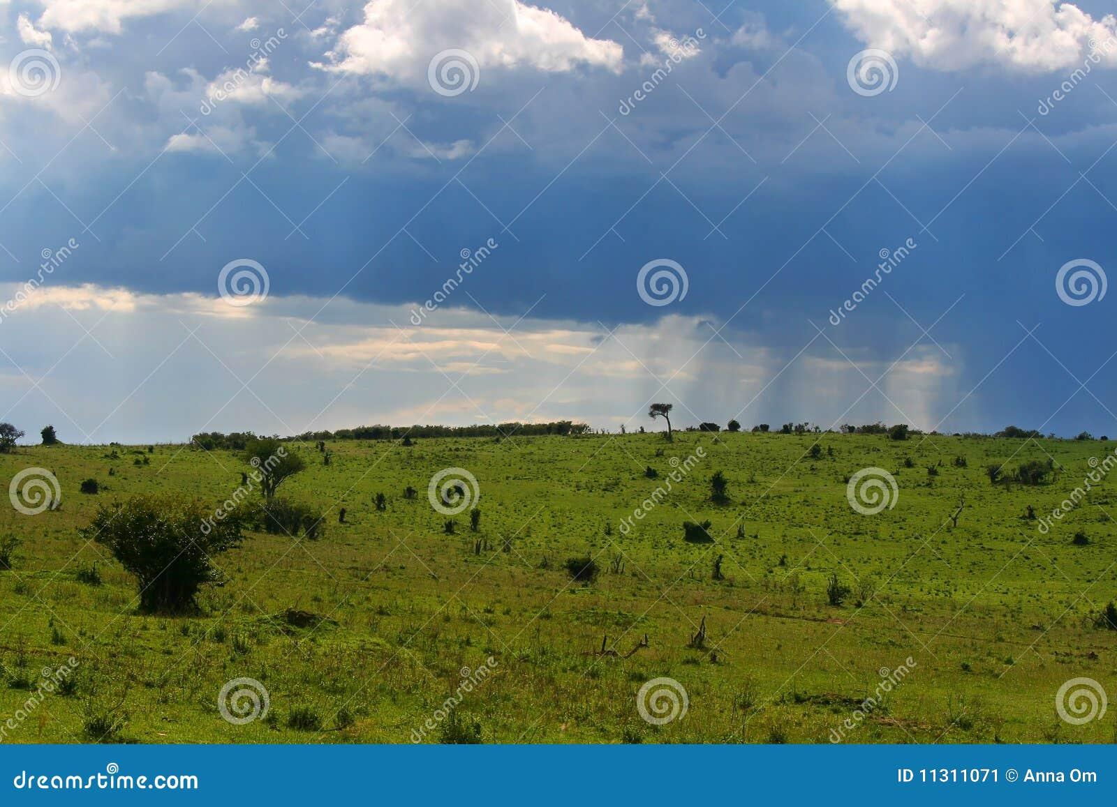 Bewölktes cloudscape