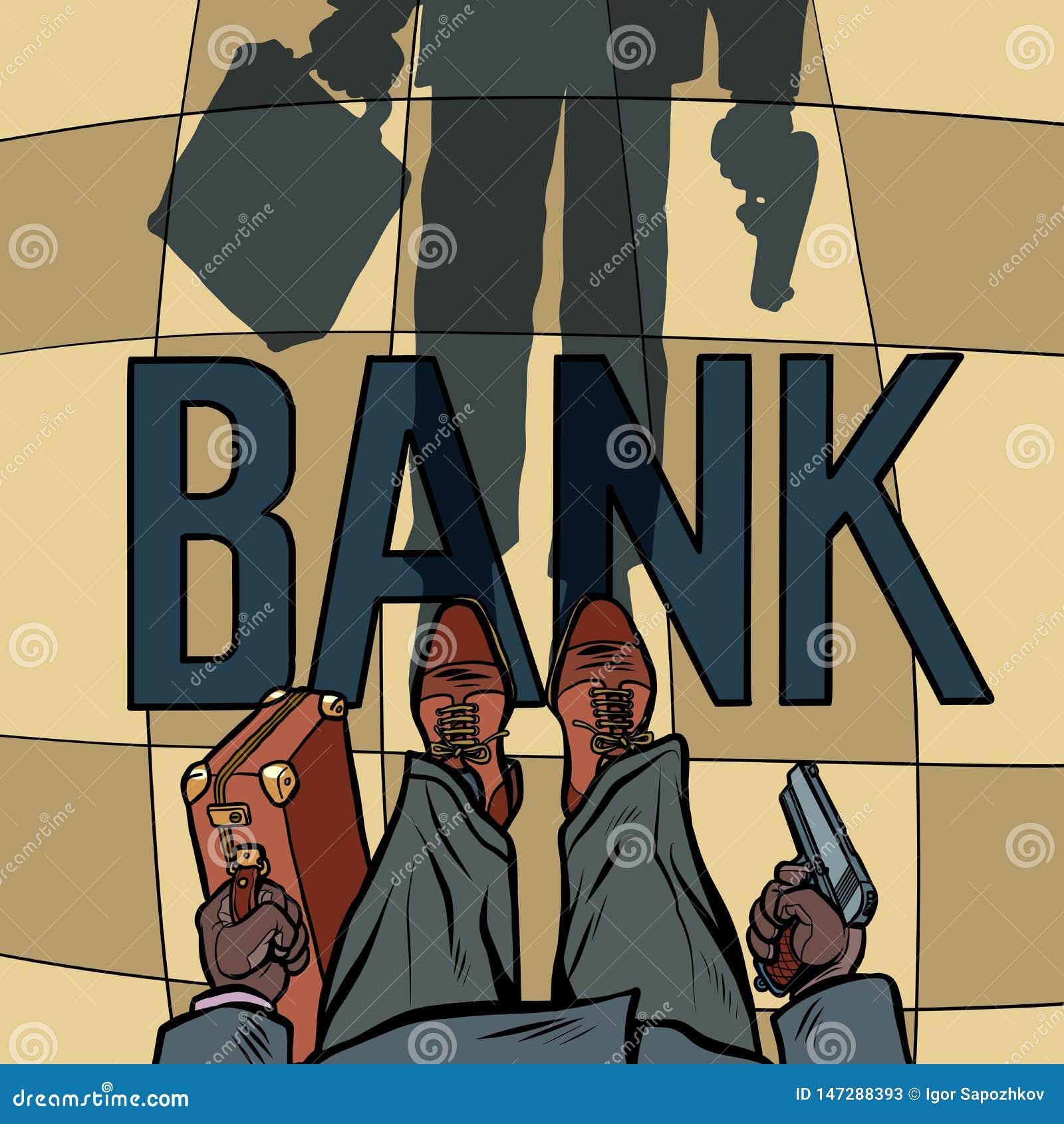 Bewapende Bankdiefstal