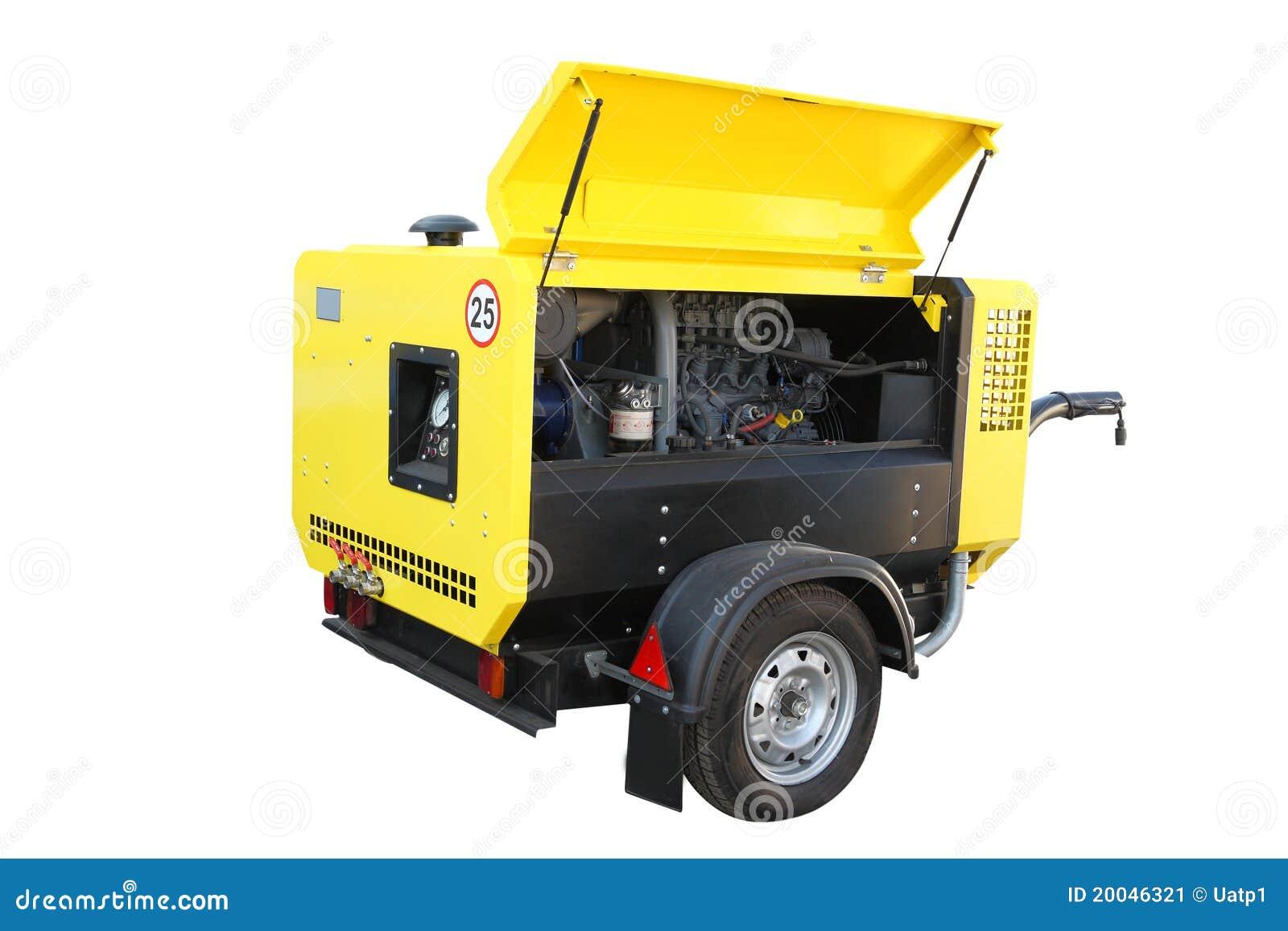 Beweegbare compressor