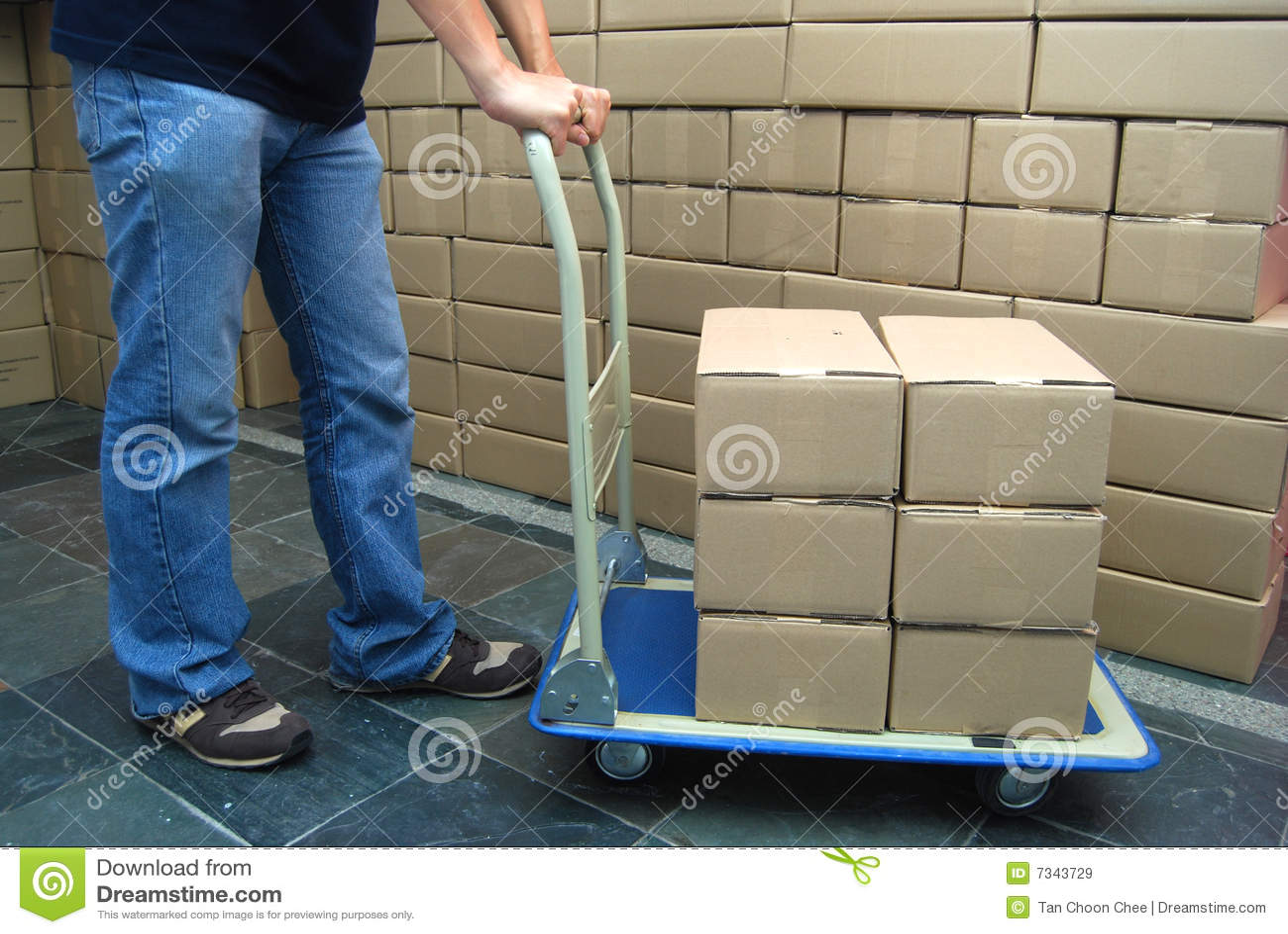 Bewegende dozen