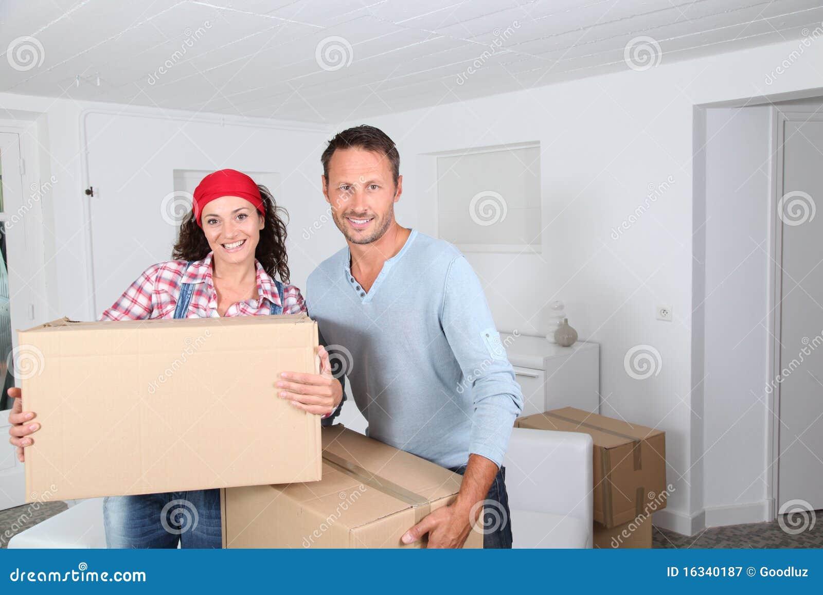 Beweging in nieuw huis
