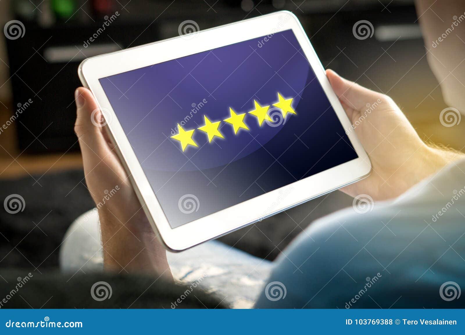 Bewertung und Bericht mit fünf Sternen vom erfüllten und glücklichen Kunden