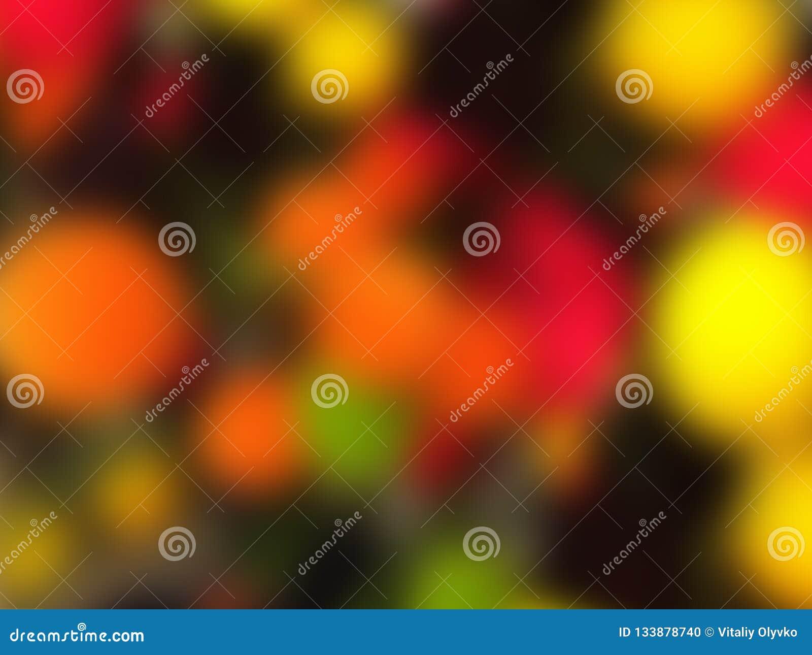 Bewirken Sie seitlichen 50mm Nikkor Mehrfarbige bunte Kreise der Zusammenfassung Kopieren Sie Platz