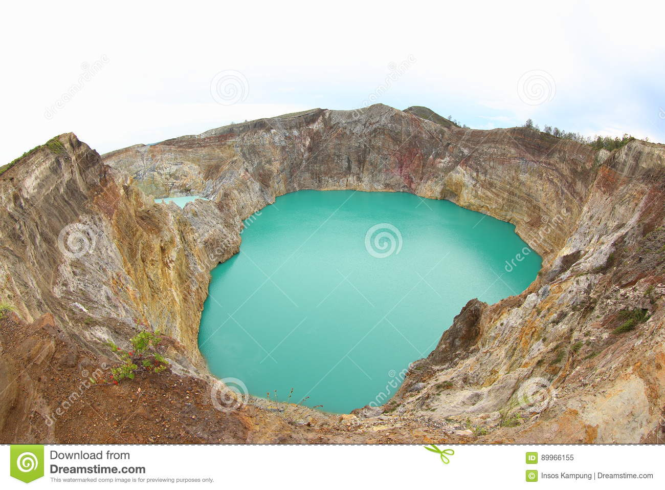 Bewitched or Enchanted Lake, Kelimutu Crater Lakes