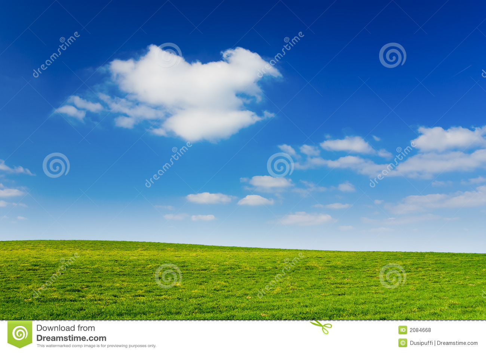 Bewolkte hemel