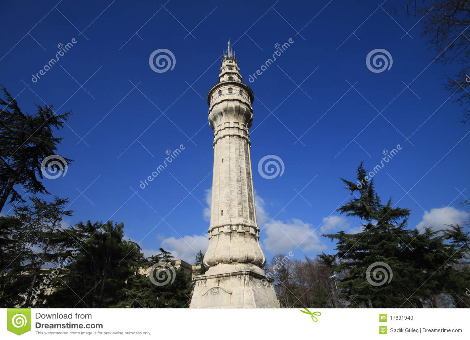 Beyazit Tower Stock Photo - Image: 17891940