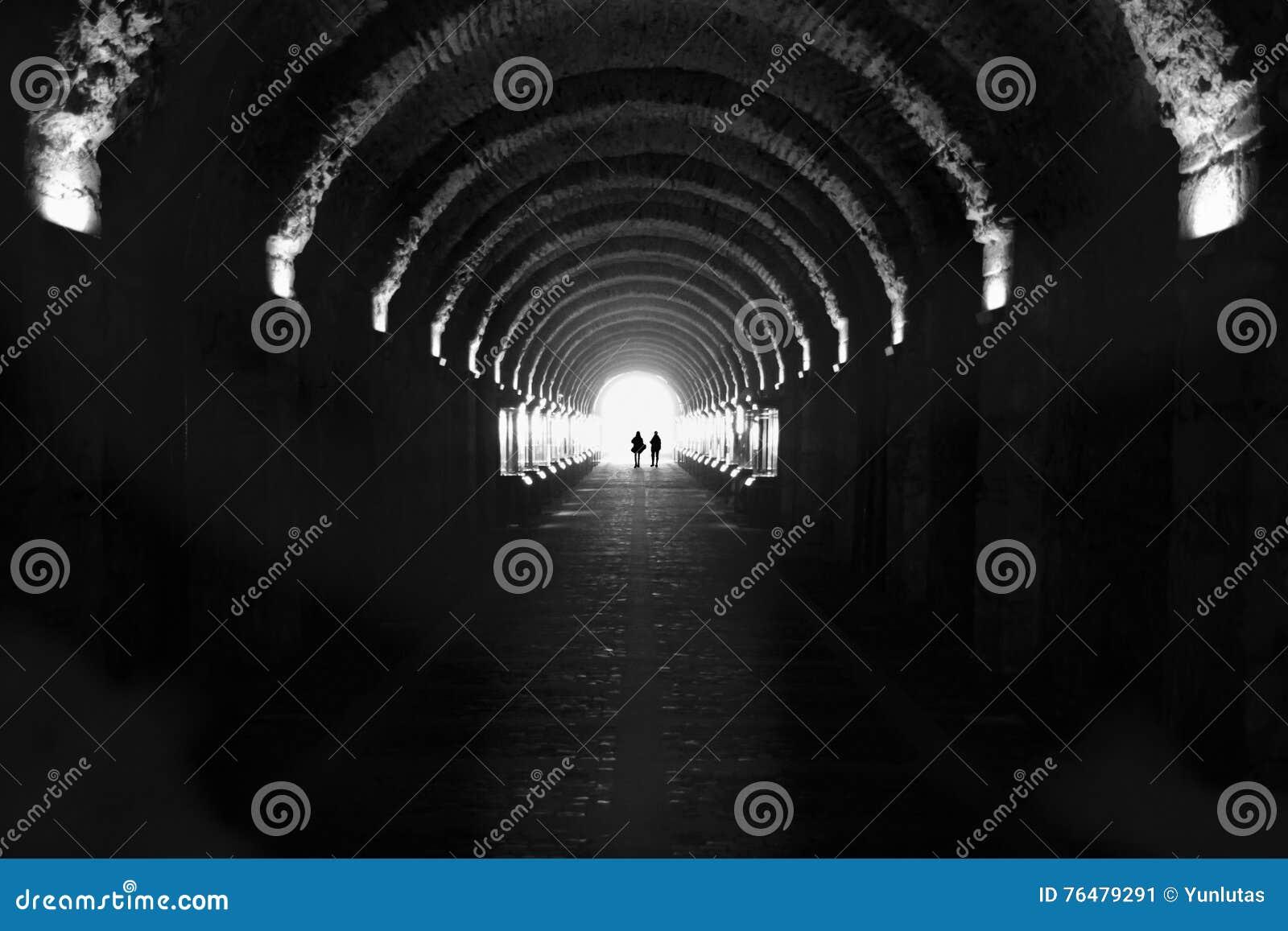 Beylerbeyi Palace, passage tunnel.