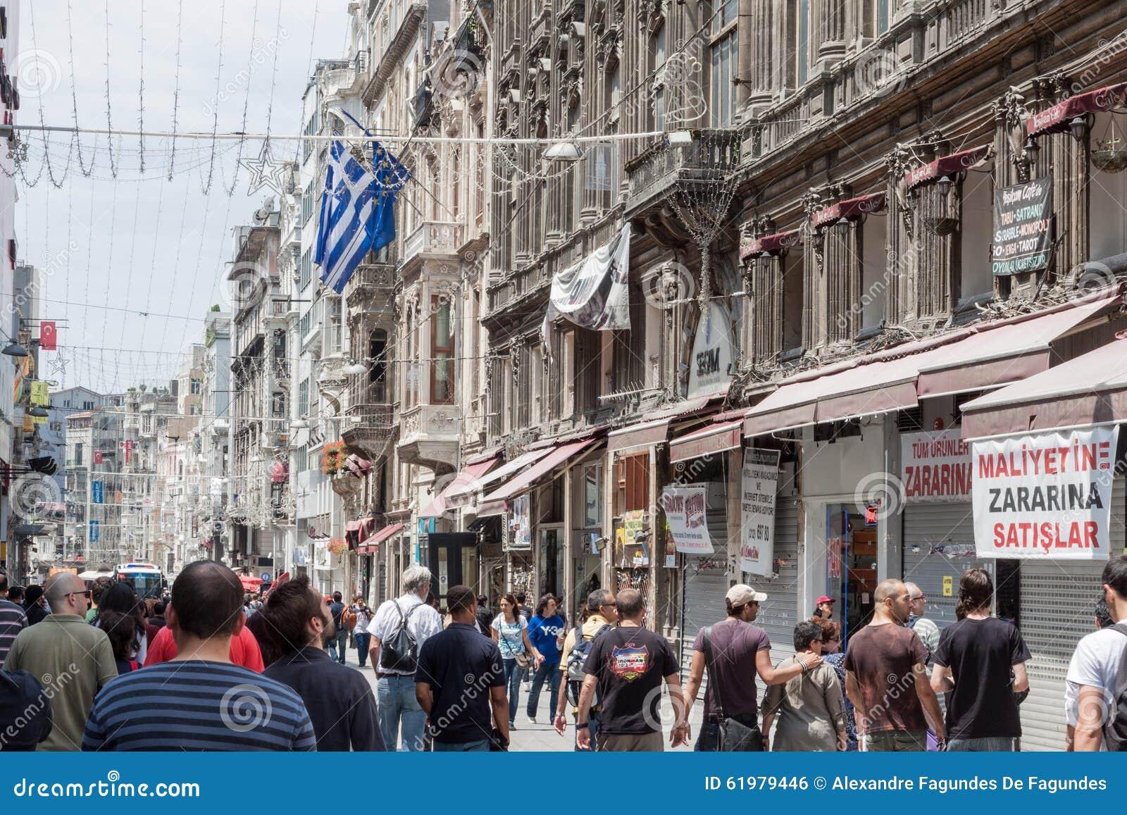 Beyoglu Turkey  city photos gallery : Beyoglu Istanbul Turkey Editorial Photo Image: 61979446