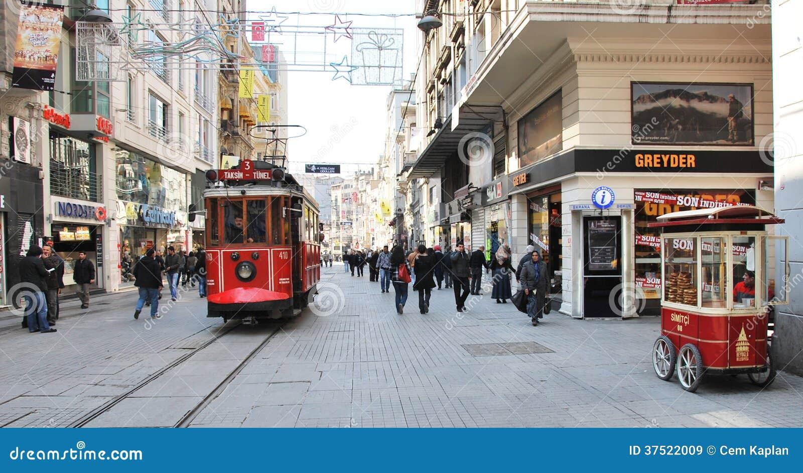 Beyoglu -Taksim tram
