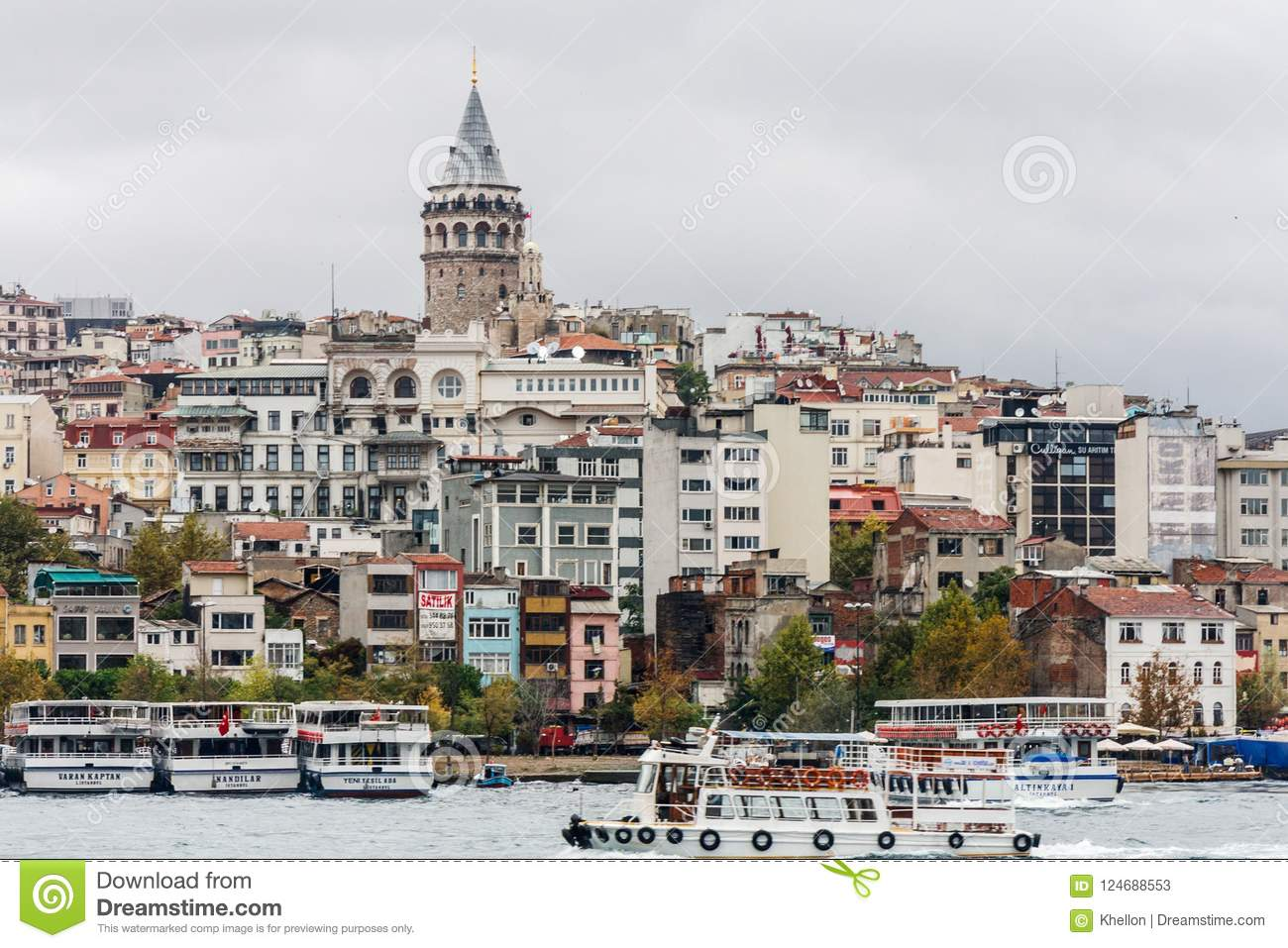 The Beyoglu tower