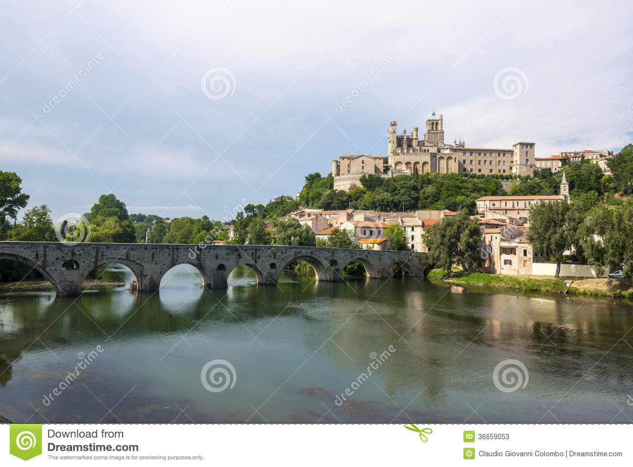 Beziers France  city photos : Beziers France Stock Photos Image: 36659053