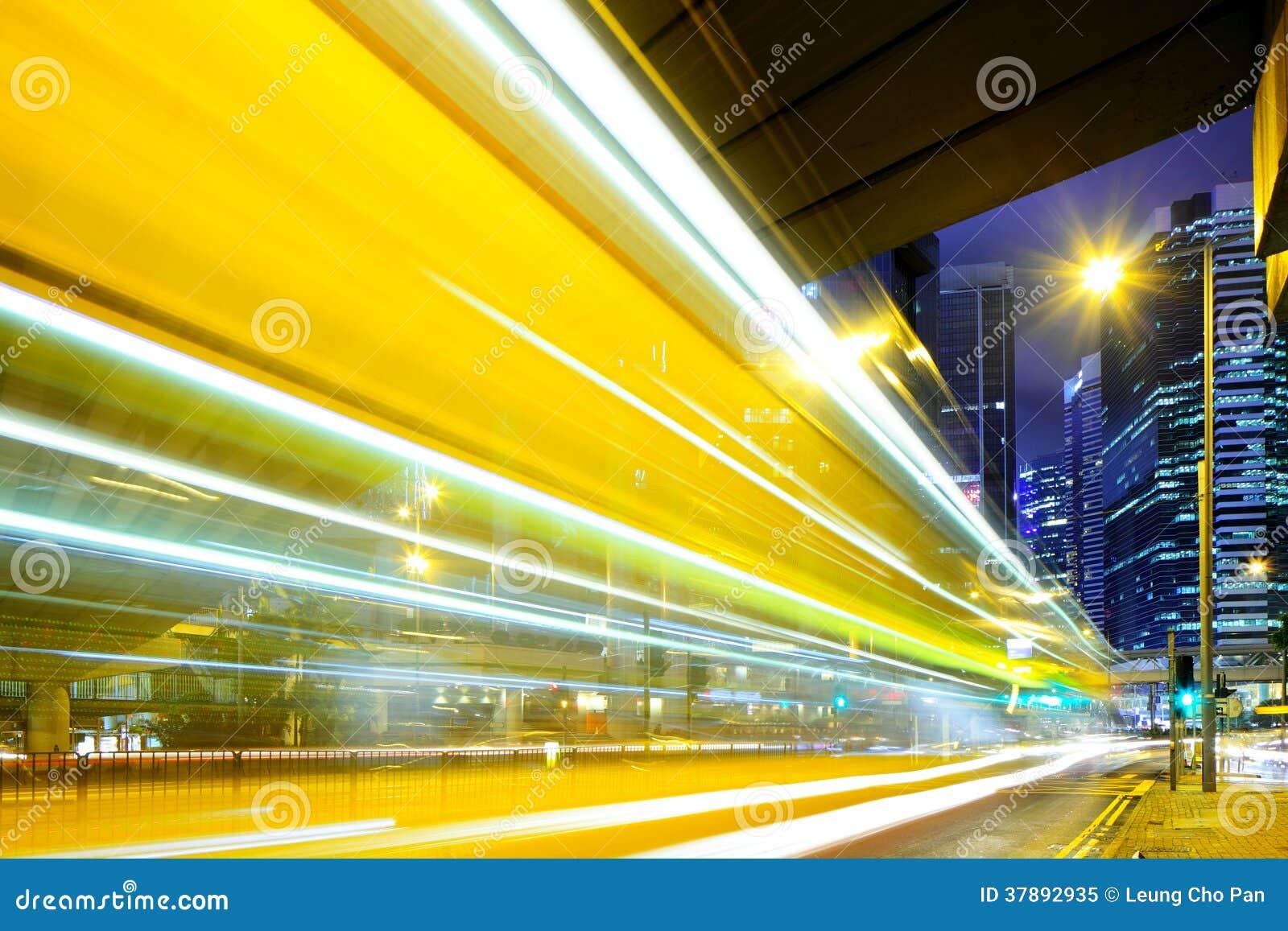 Bezig verkeer in Hong Kong