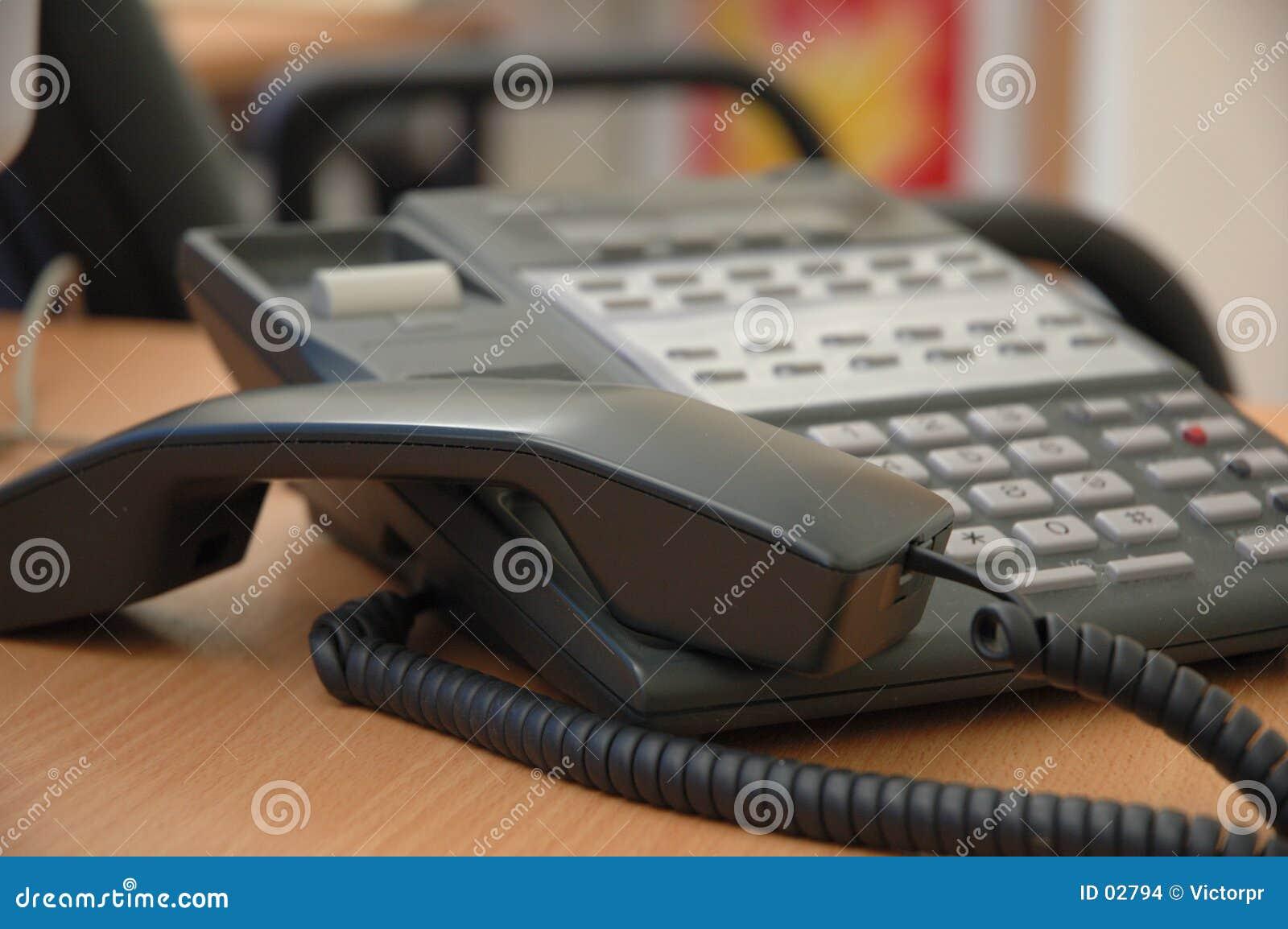 Bezige telefoon