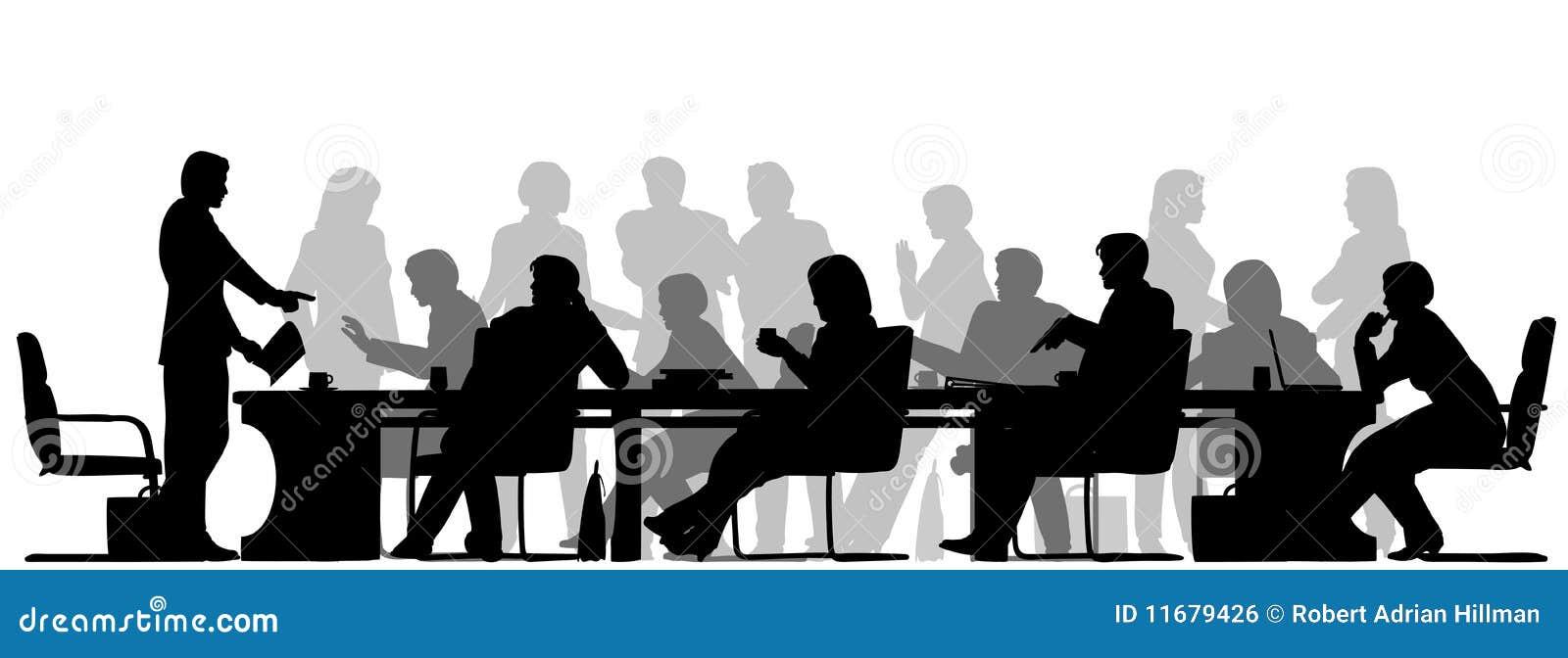 Bezige vergadering