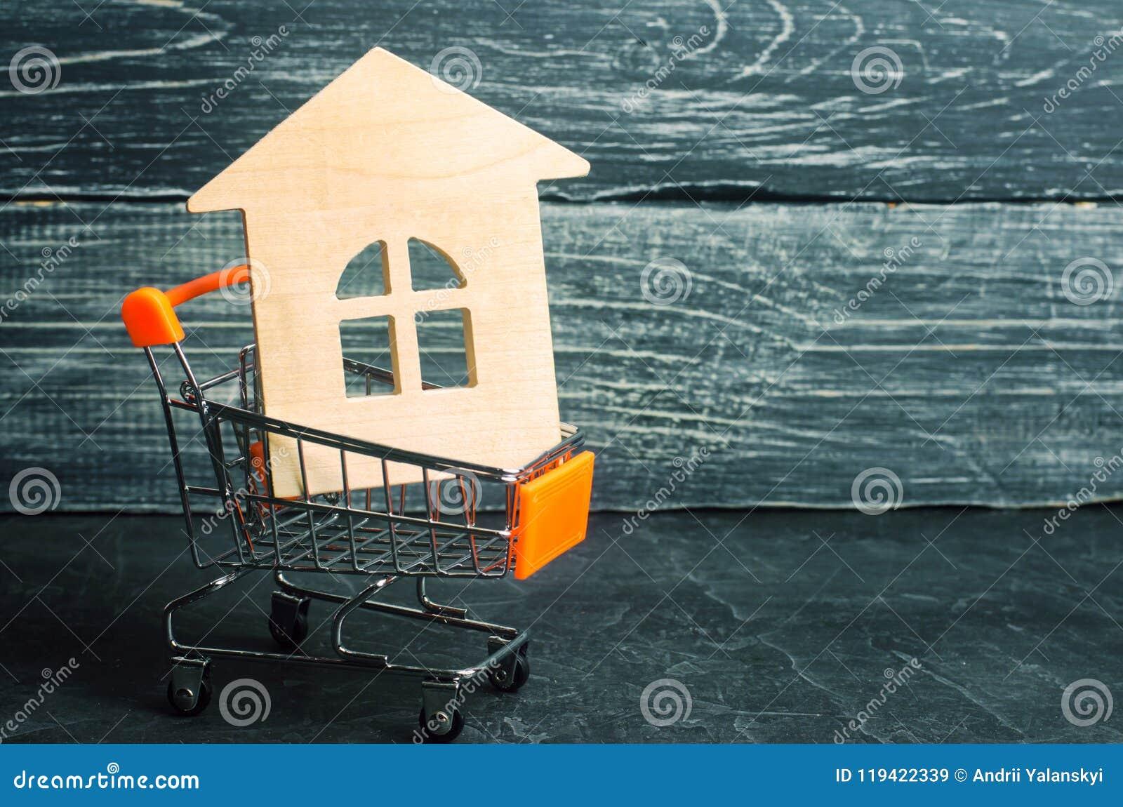 Bezitsinvestering en het financiële concept van de huishypotheek buying