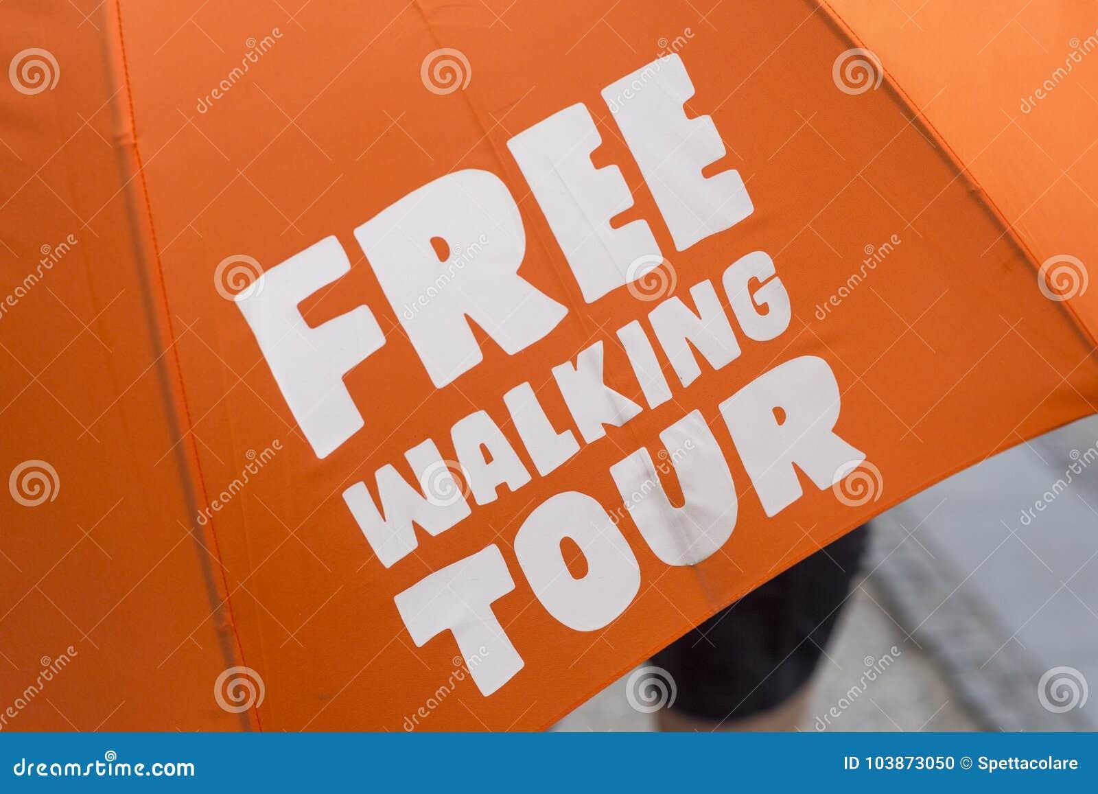 Bezpłatna chodząca wycieczka turysyczna