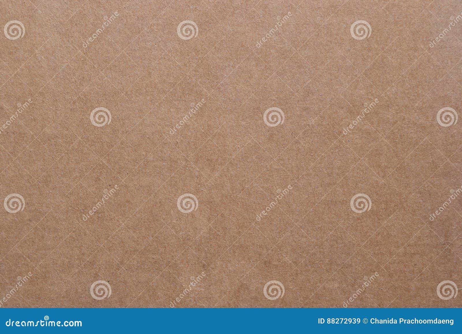 Bezszwowa brown papieru tekstura i kartonu tło