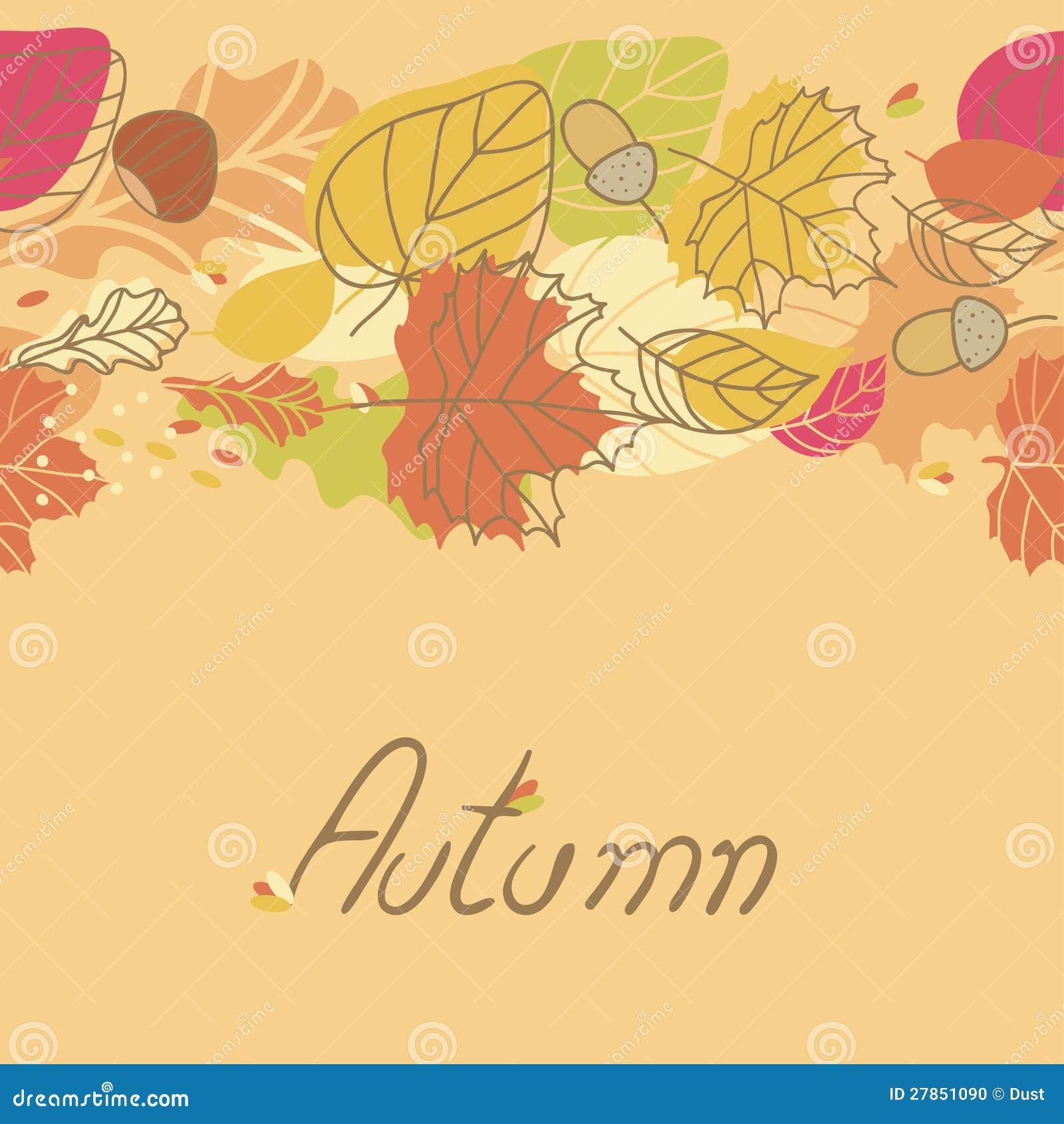 Bezszwowa jesień Granica