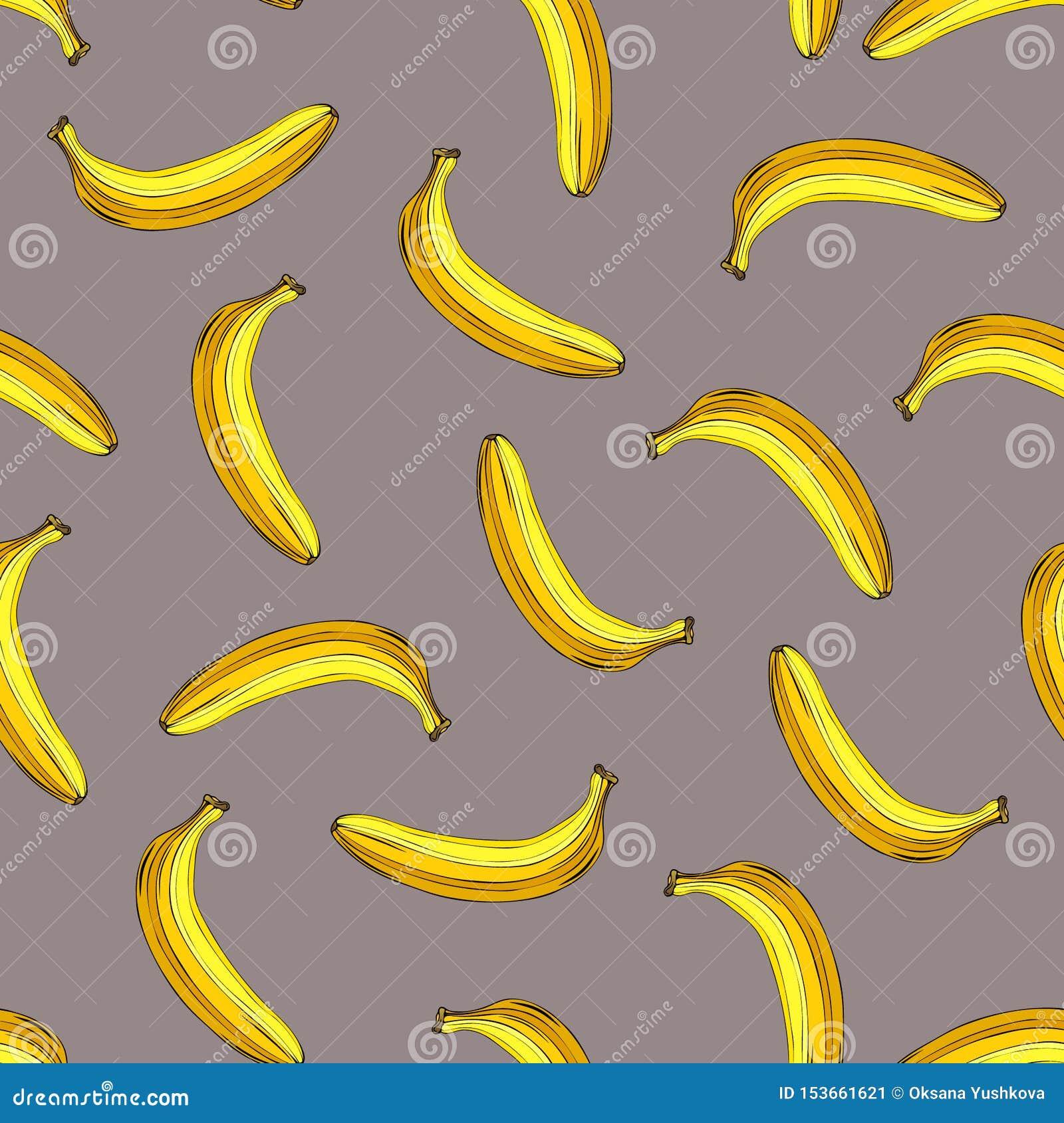 Bezszwowy banana wz?r