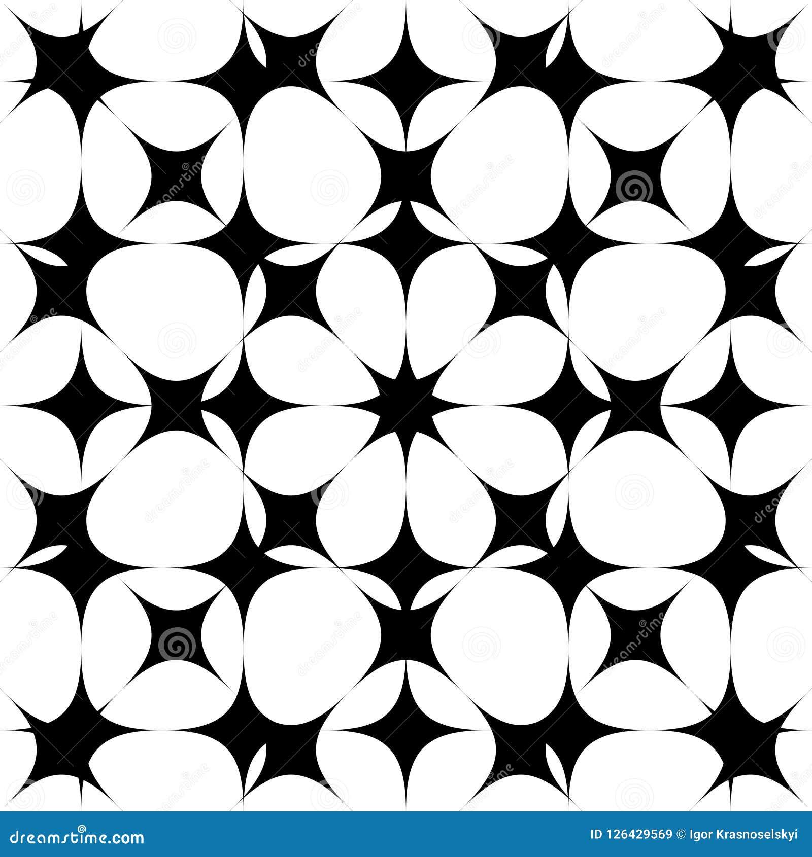 Bezszwowy deseniowy tło Abstrakt w geometrycznym projekcie wektor bezszwowy wzoru