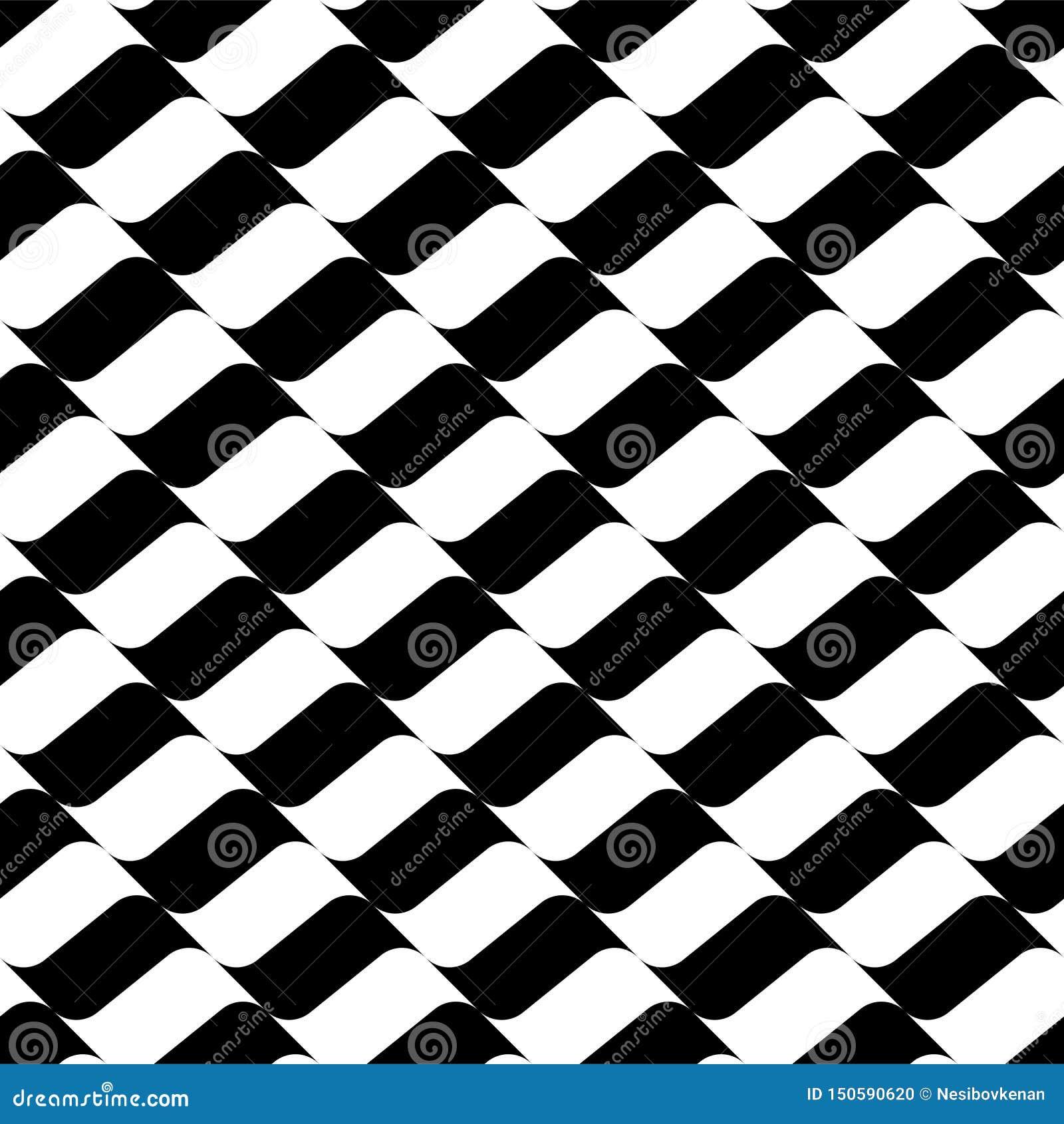 Bezszwowy geometryczny płaski kolorowy wzór