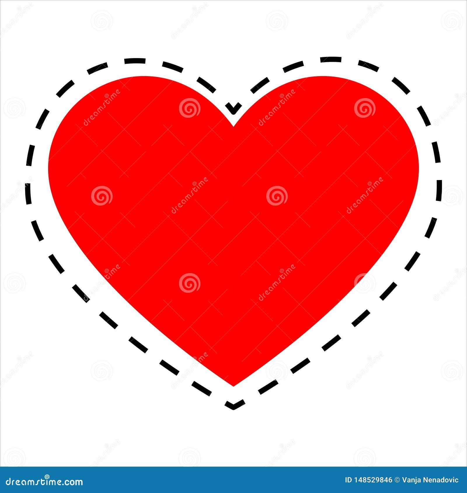 Bezszwowy geometryczny wz?r z sercami