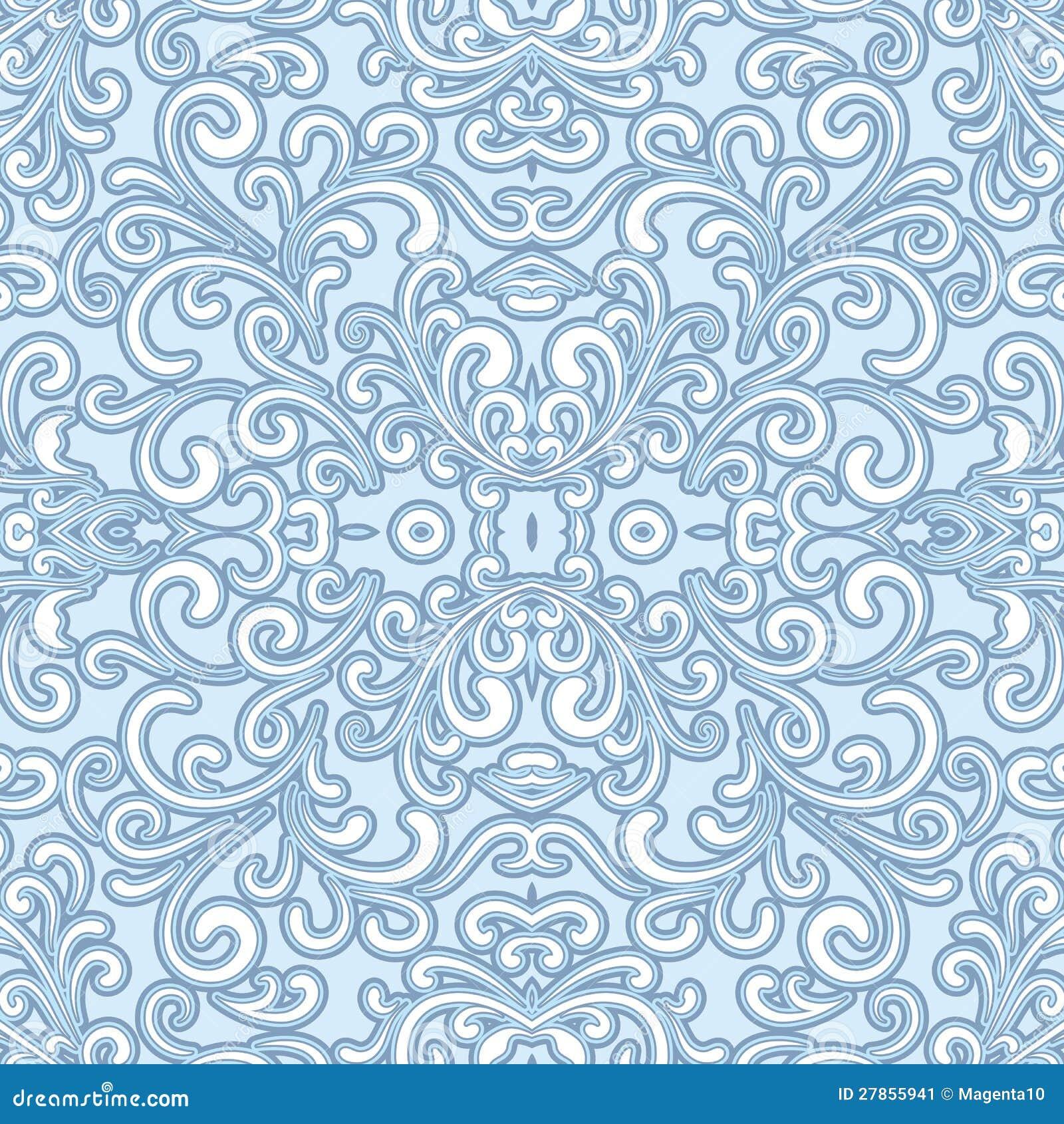 Bezszwowy Swirly wzór