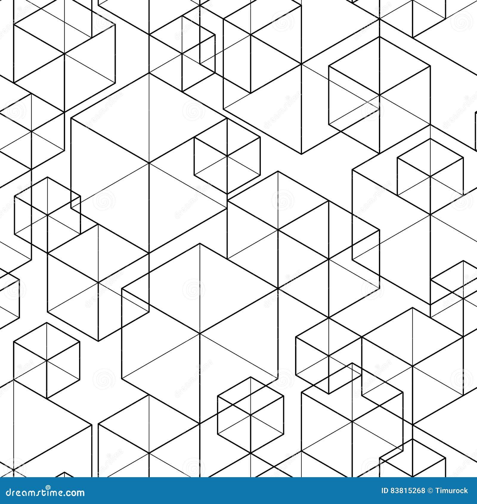 Bezszwowy wzoru geometrycznego
