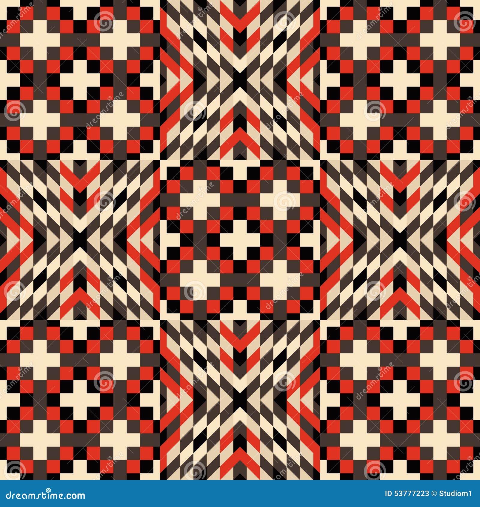 Bezszwowy wzoru mozaika