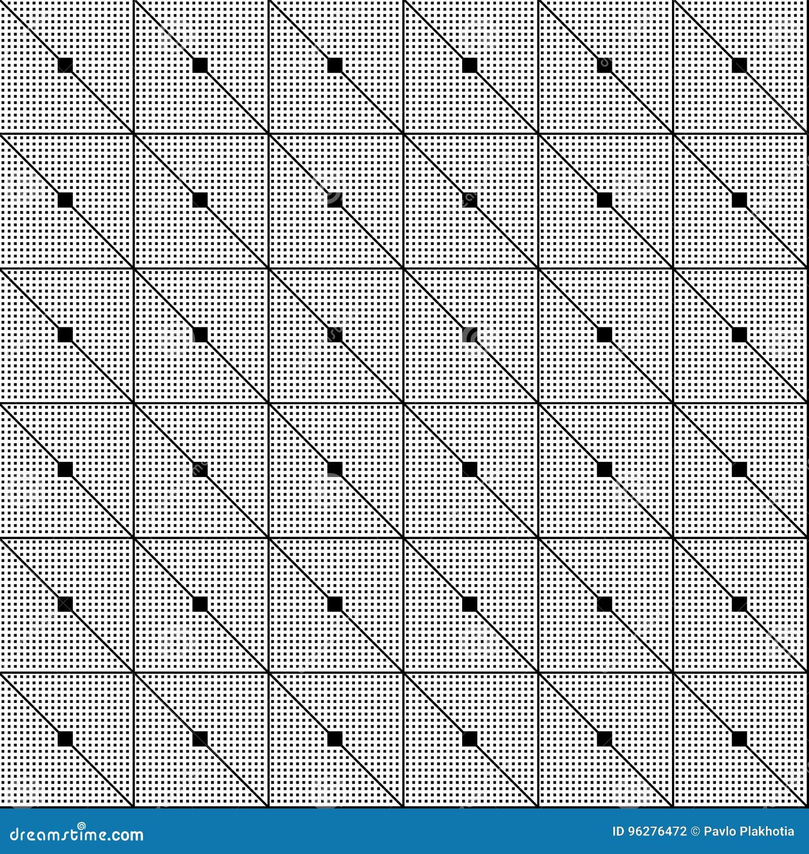 Bezszwowy wzoru tło geometrycznego abstrakcyjne Nowożytna tekstura z liniami Wielostrzałowa geometrical siatka z paskami i