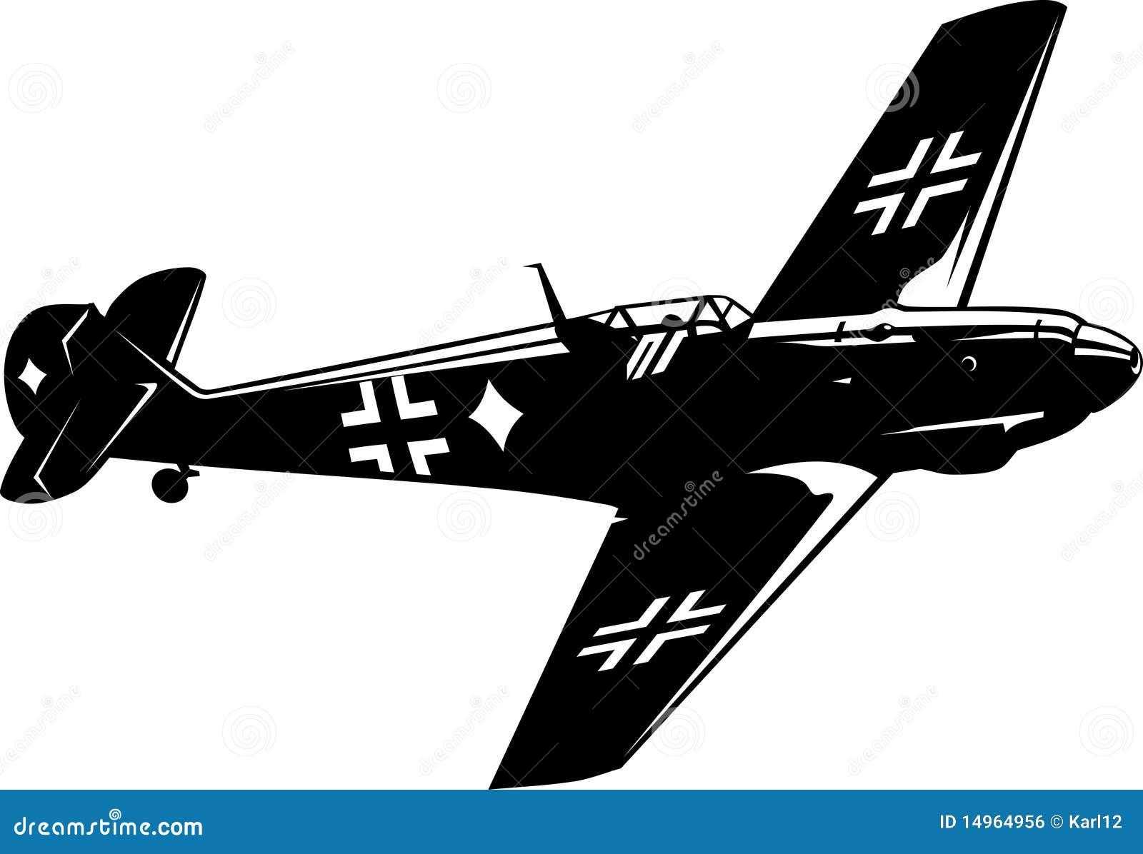 BF 109 van Messerschmitt van de vechter