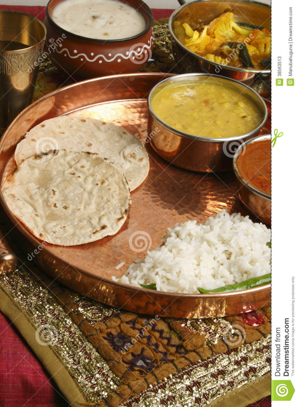 Bhakri a flatbread made of jowar from gujarat stock for Cuisine western