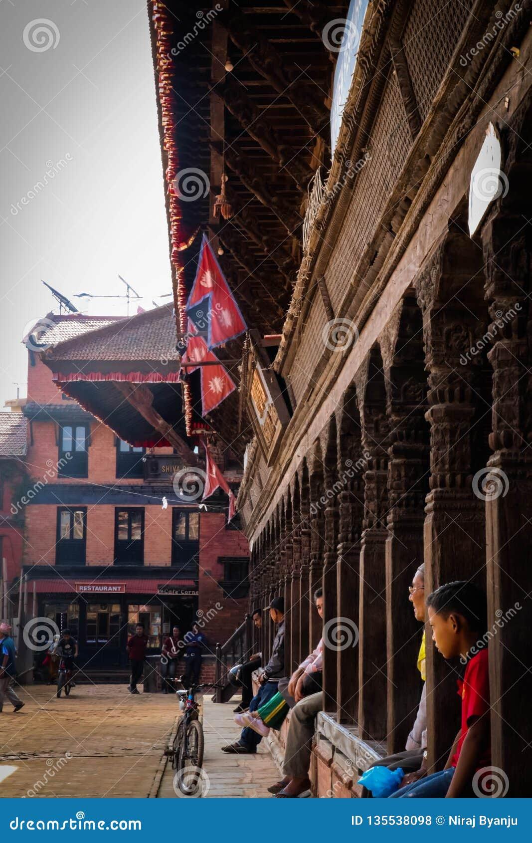 Bhaktapur durbar τετράγωνο