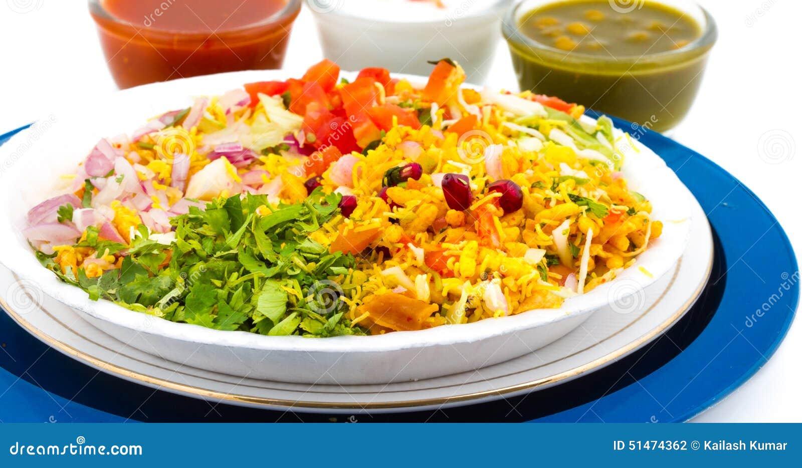 Bhel Indian Food