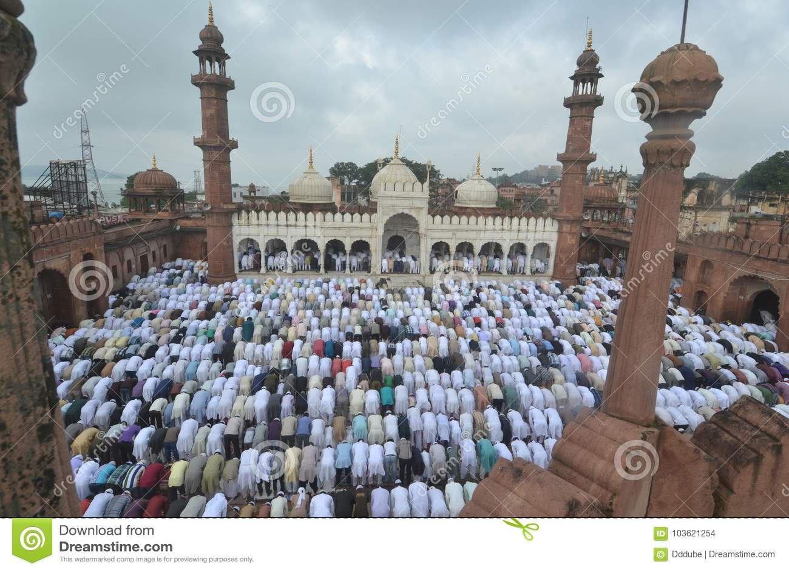 Bhopal, Moti Masjid-Moschee