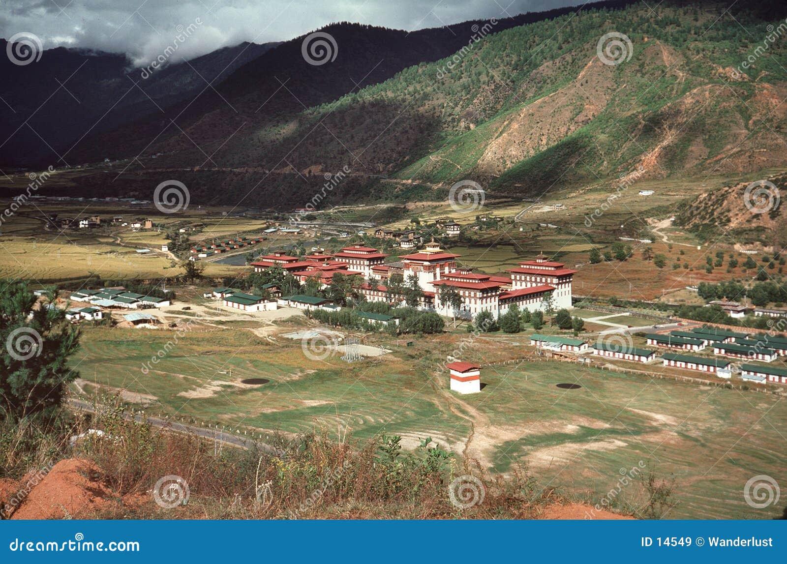 Bhutan-Dorf