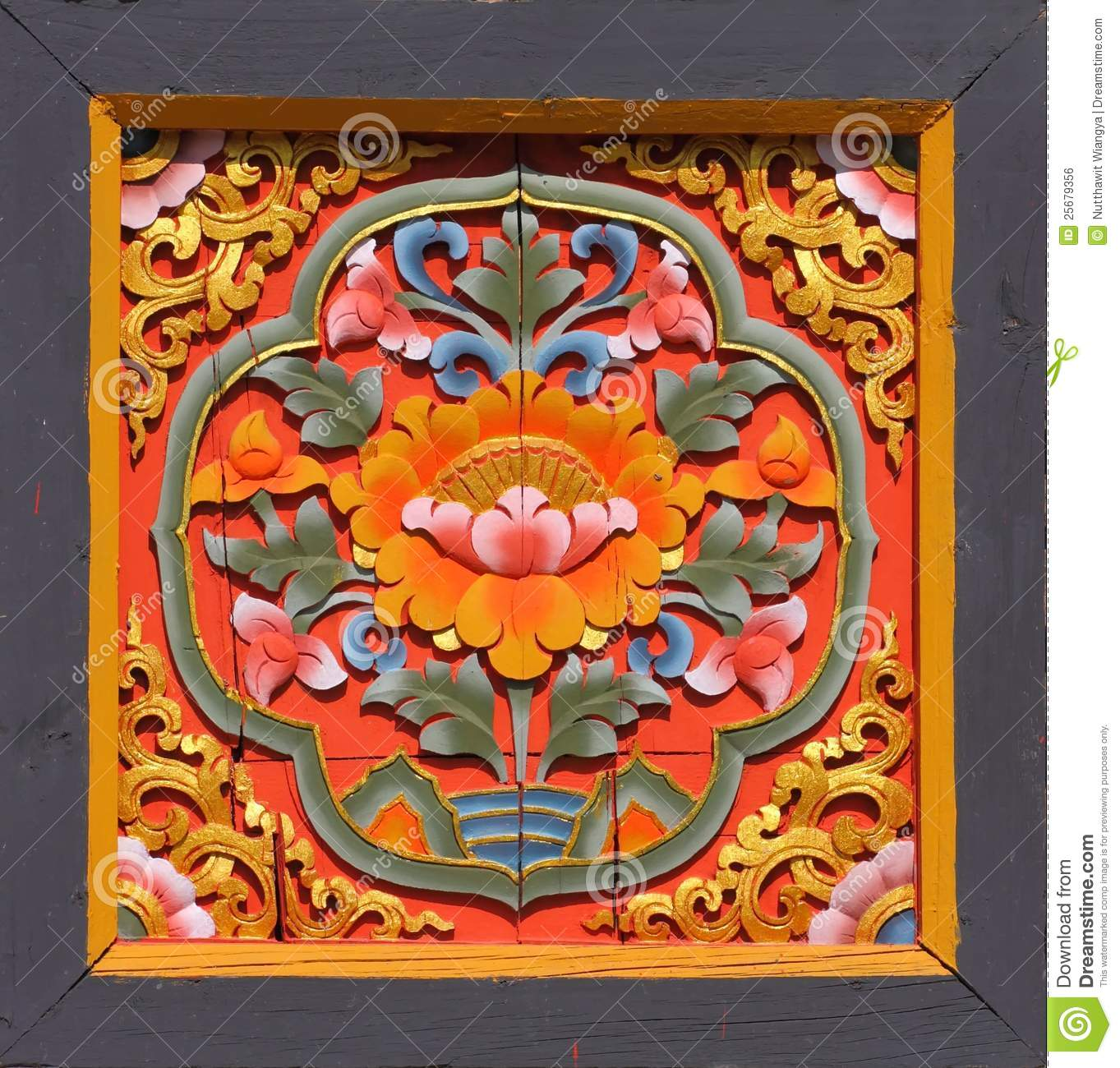 Bhutanese Art Stock Photo Image Of Culture Ancient