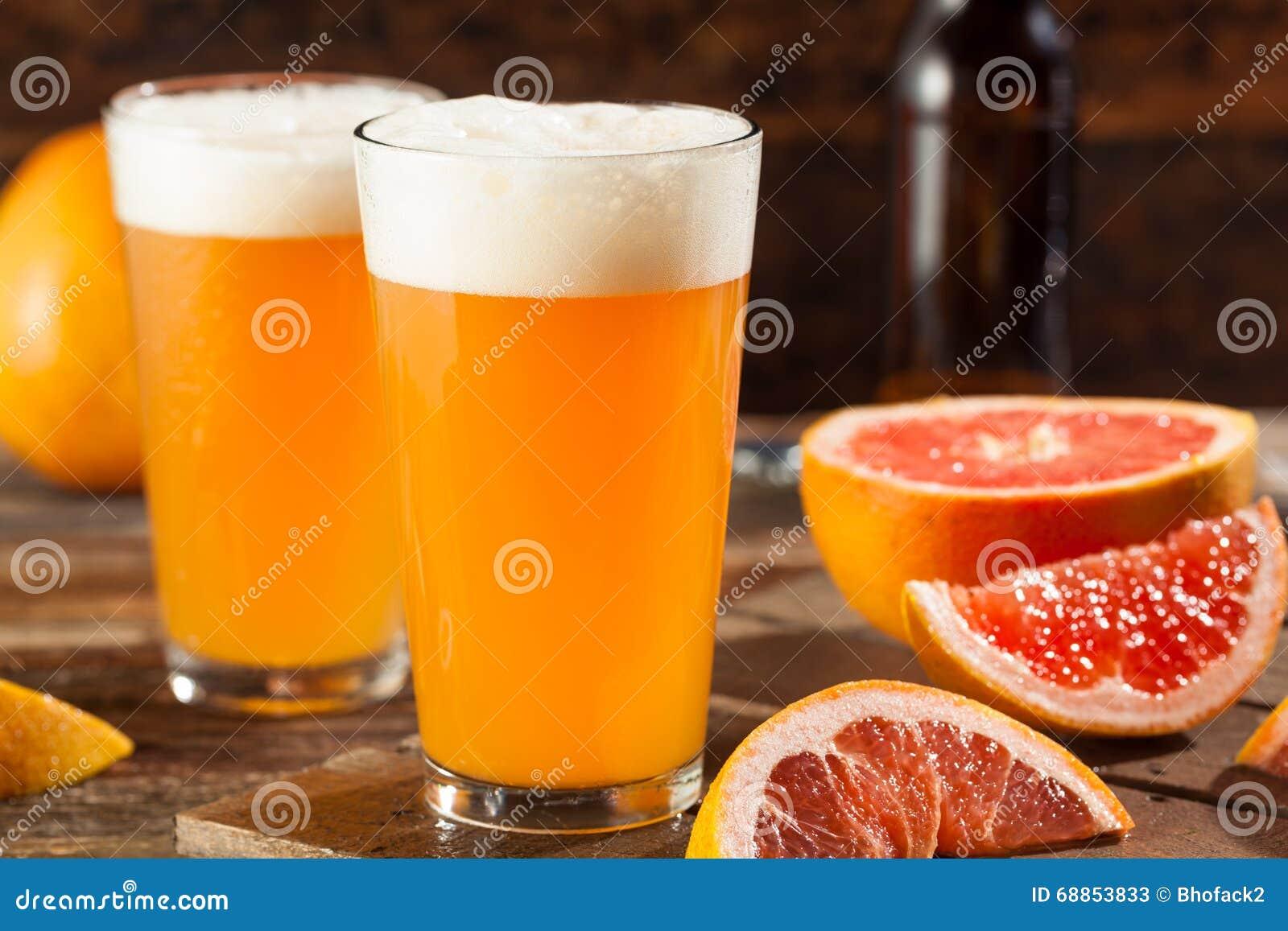 Bière aigre de métier de pamplemousse