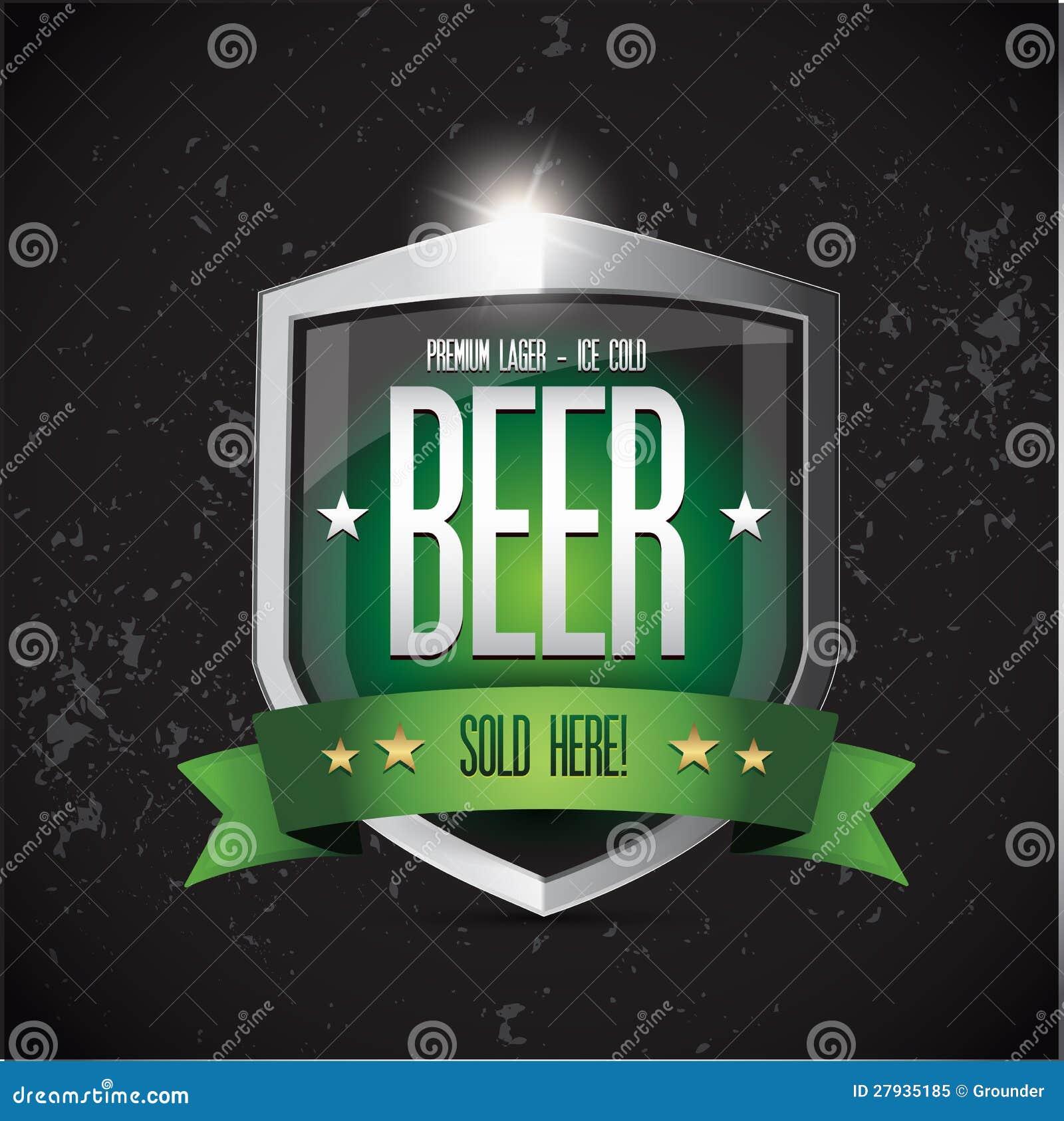 Bière blonde allemande de la meilleure qualité - écran protecteur glacé de bière