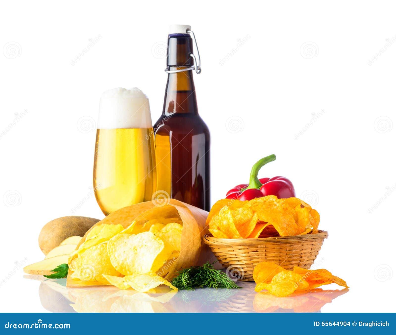 Bière et aliments sans valeur nutritive