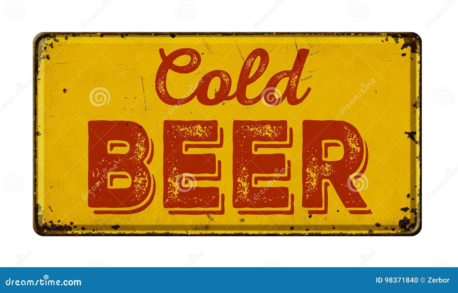 Bière froide