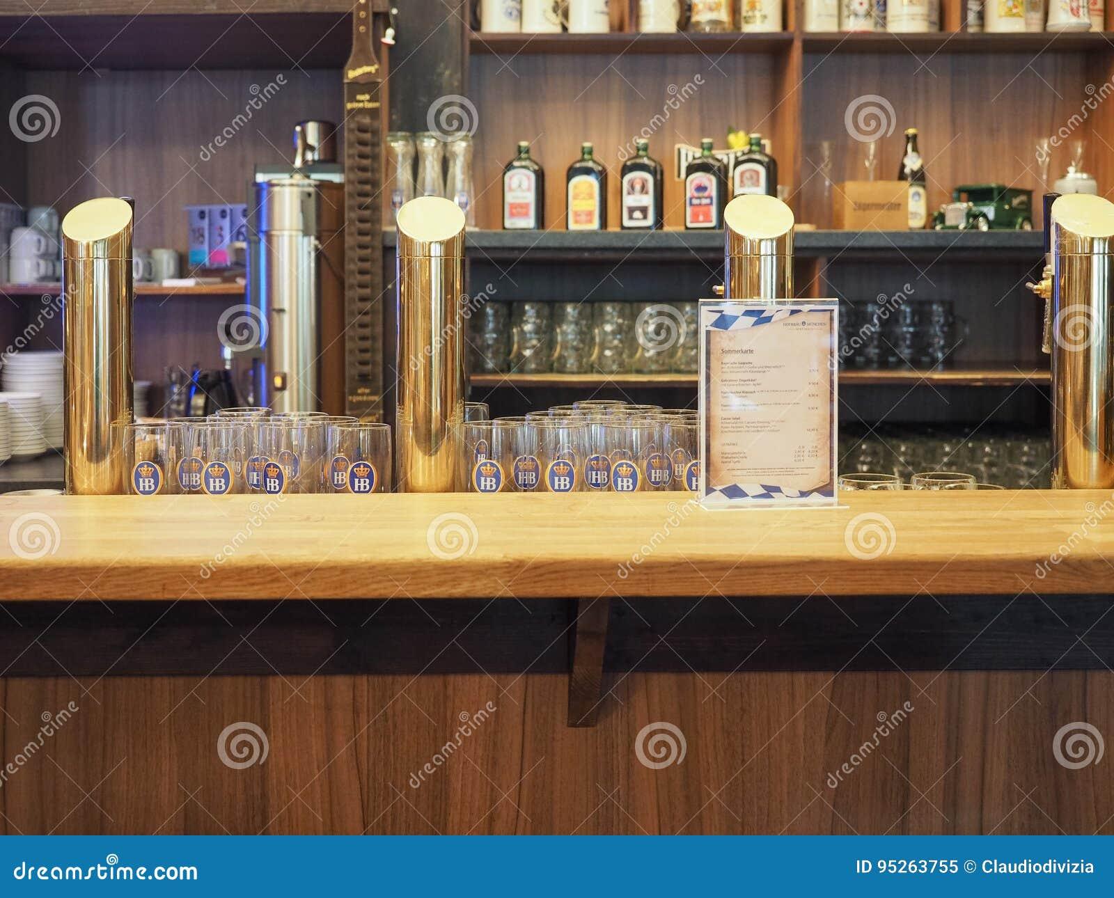 Bières en fûts à Hambourg