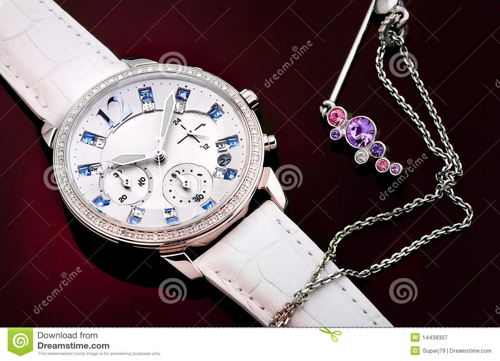 Biżuterii ms zegarek