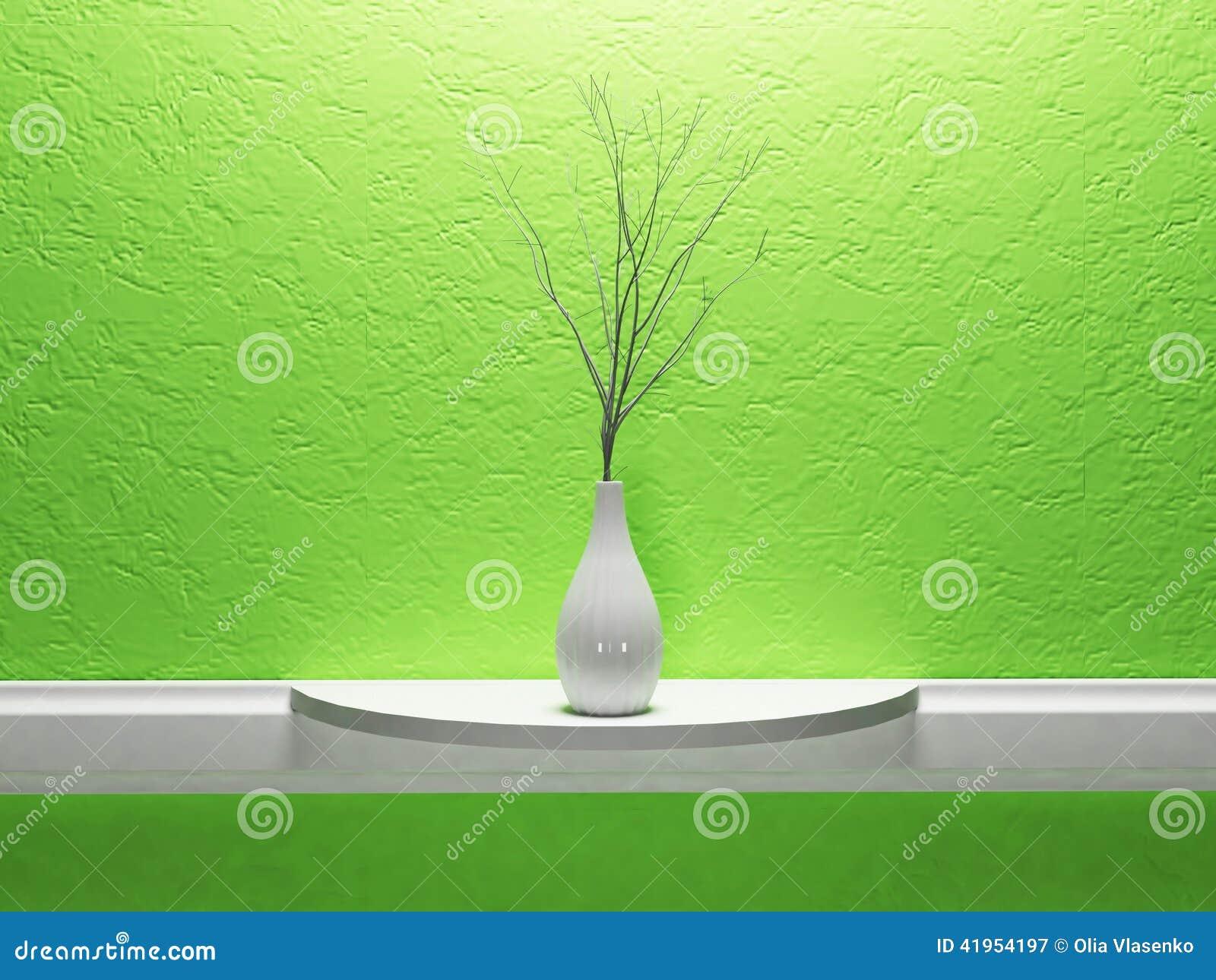 Biała waza z śniadanio-lunch
