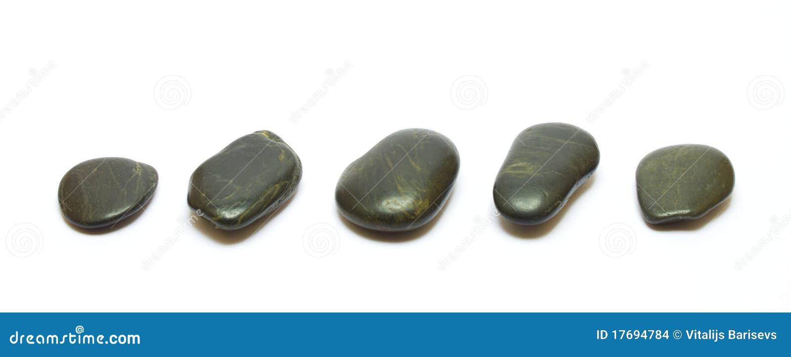 Biały czarny tło kamienie