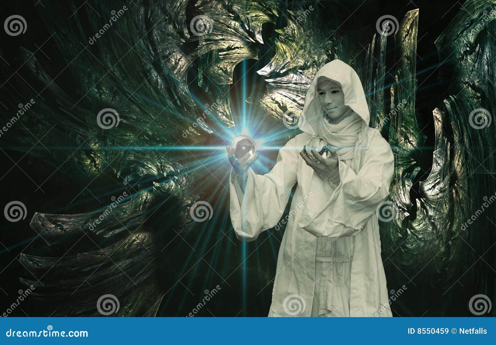 Biały czarownik