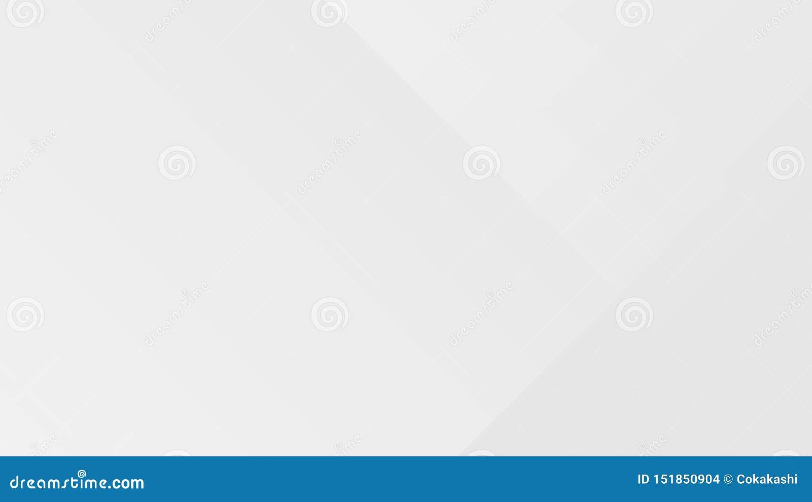 Biały gradientowy abstrakcjonistyczny wielobok linii wzór na szarym tle