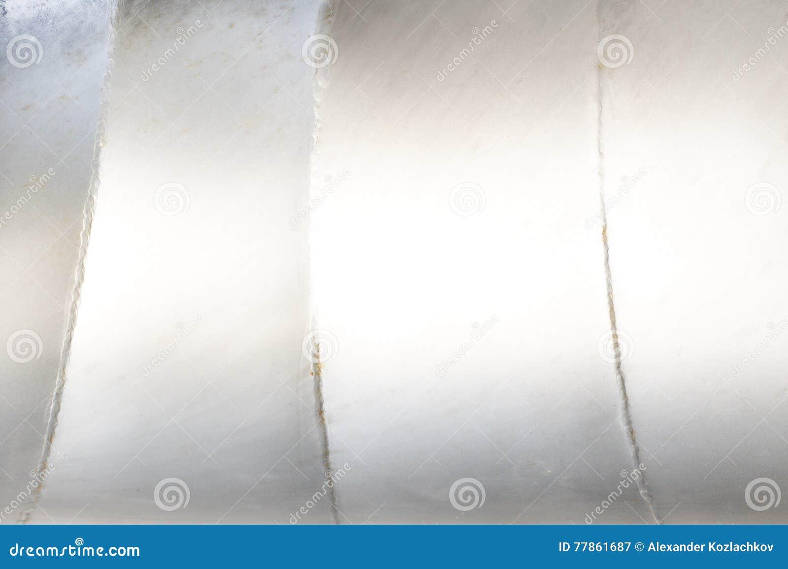 Biały metalu tło