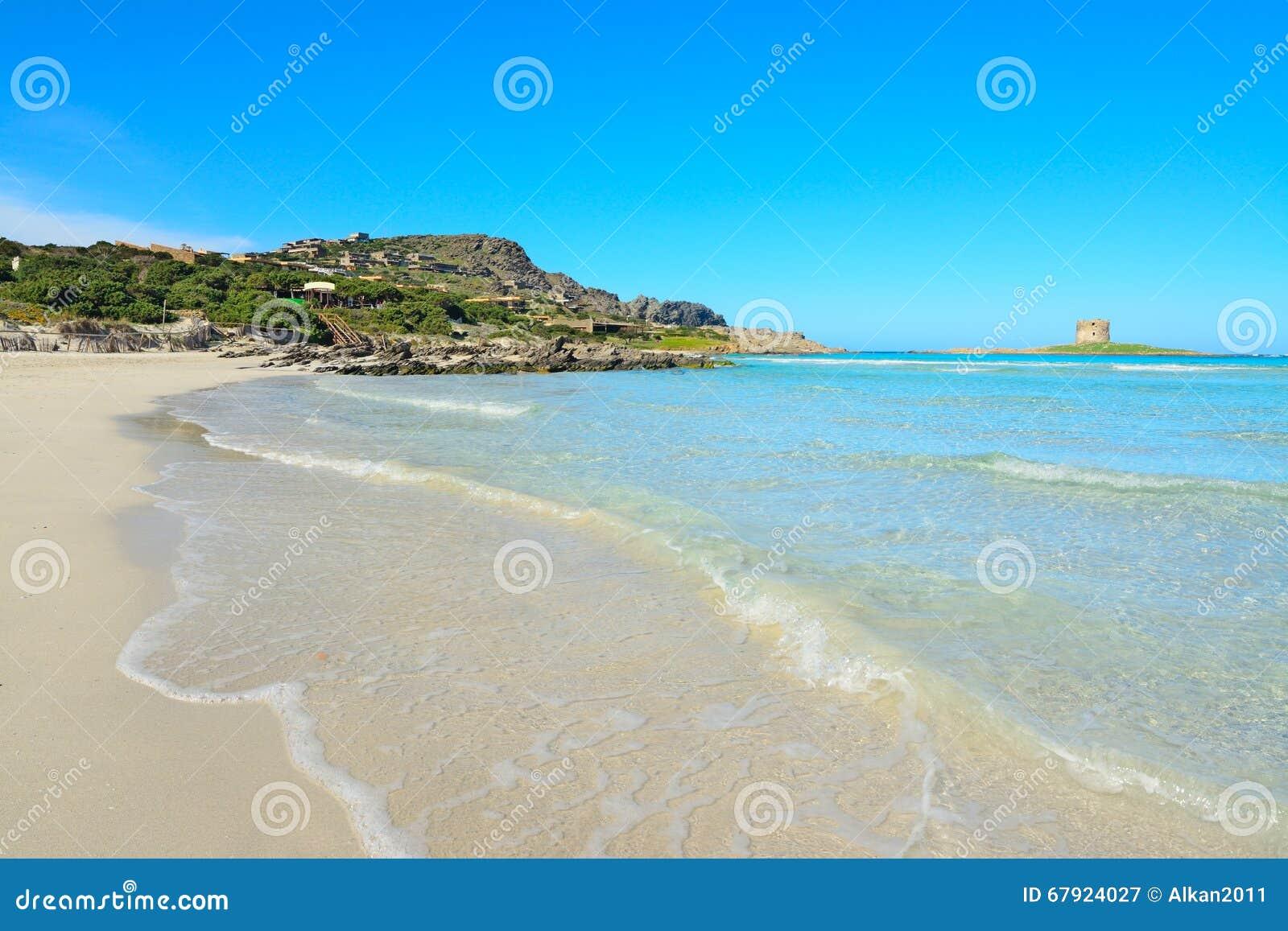 Biały piasek w Stintino