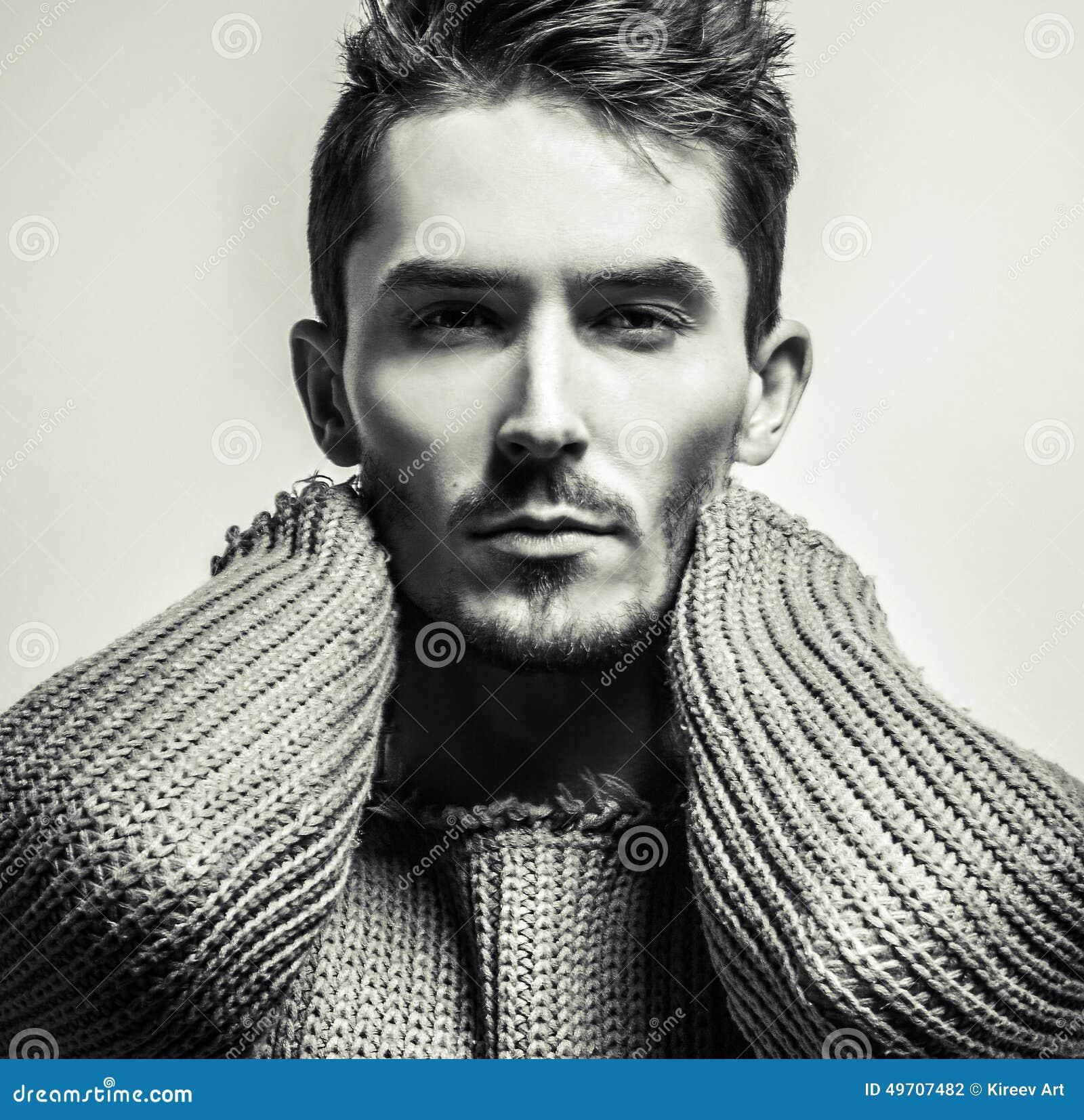 jak wygląda przystojny mężczyzna